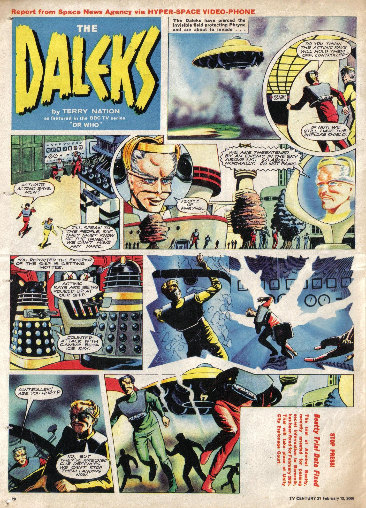 Read online TV Century 21 (TV 21) comic -  Issue #56 - 19
