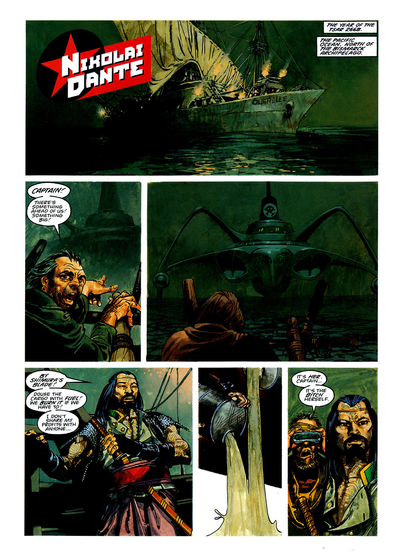 Read online Nikolai Dante comic -  Issue # TPB 3 - 38