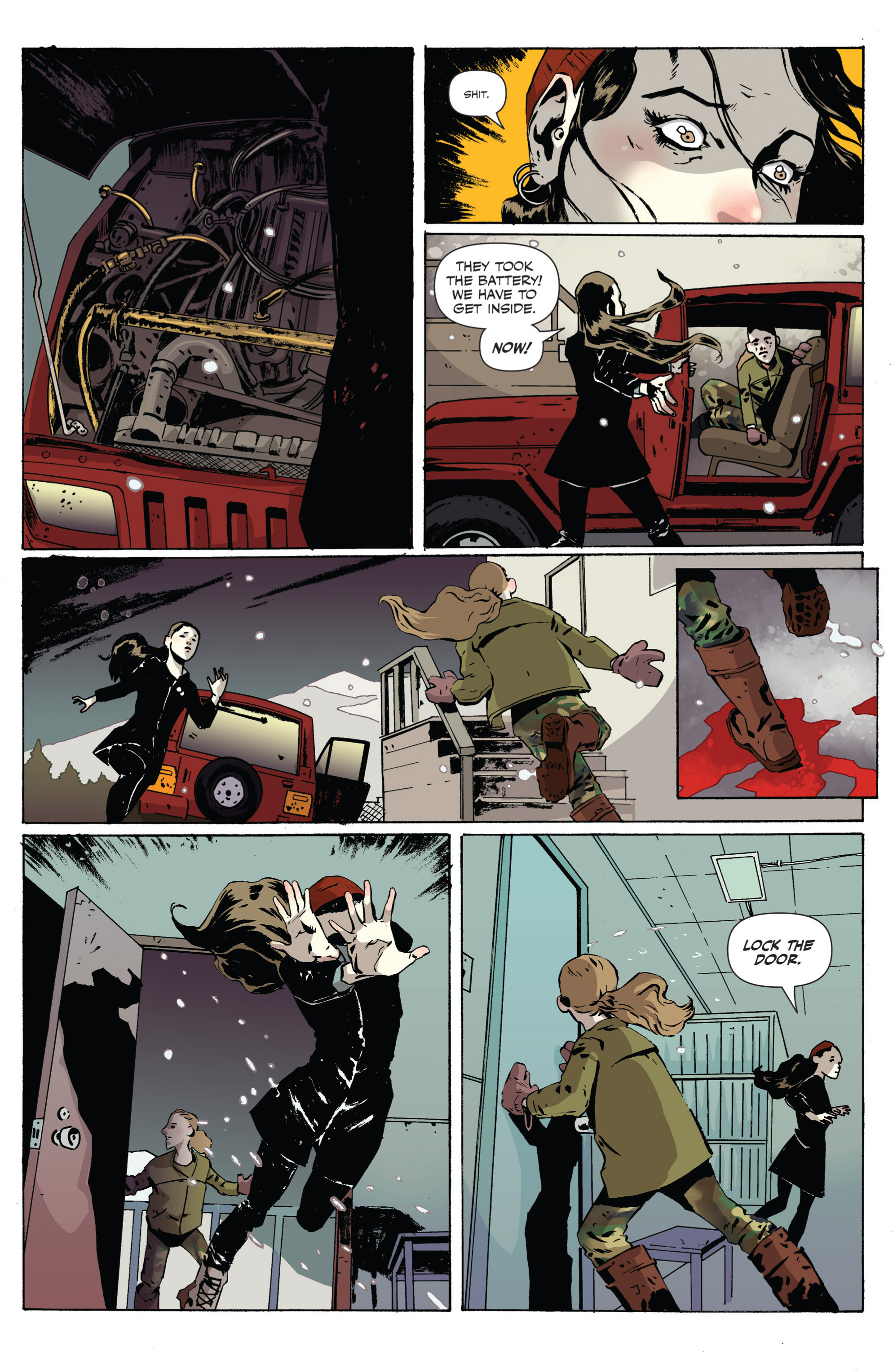 Read online Sheltered comic -  Issue #2 - 7
