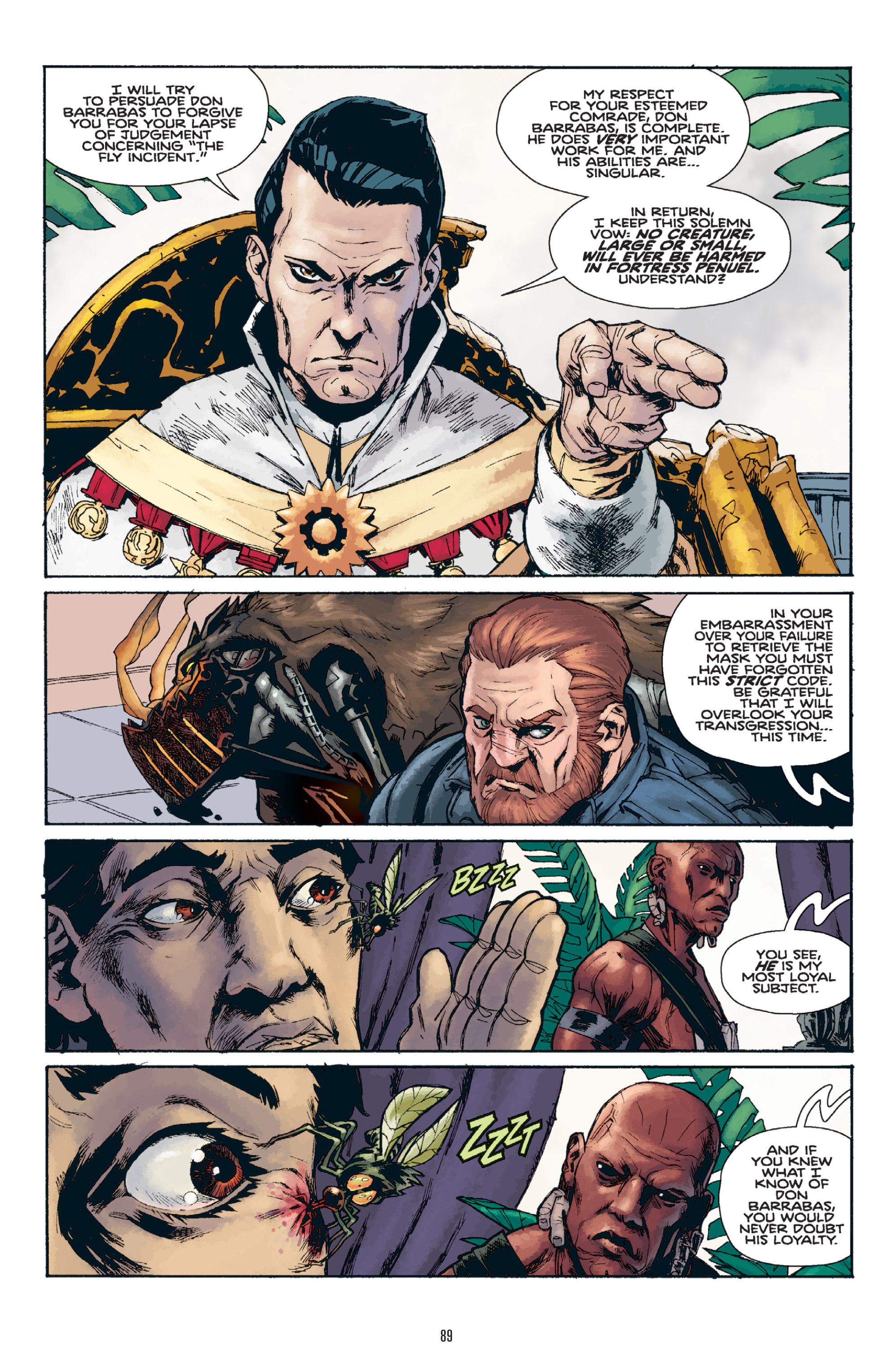 Read online Orchid comic -  Issue # TPB 1 - 88