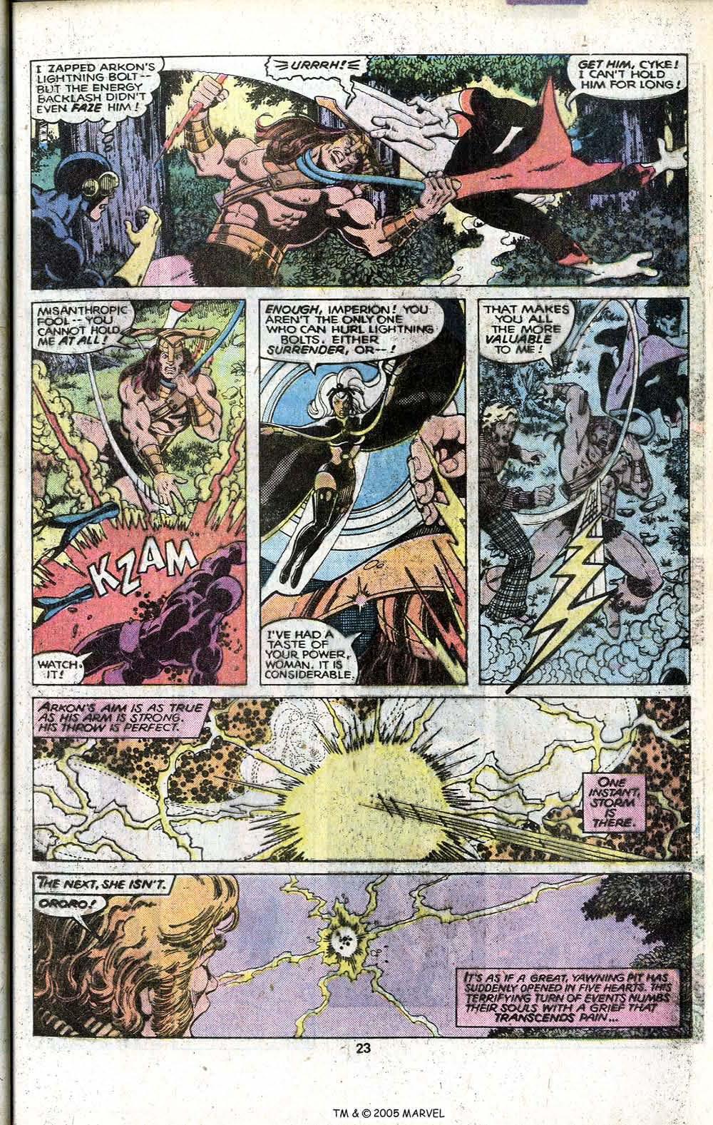 Read online Uncanny X-Men (1963) comic -  Issue # _Annual 3 - 25