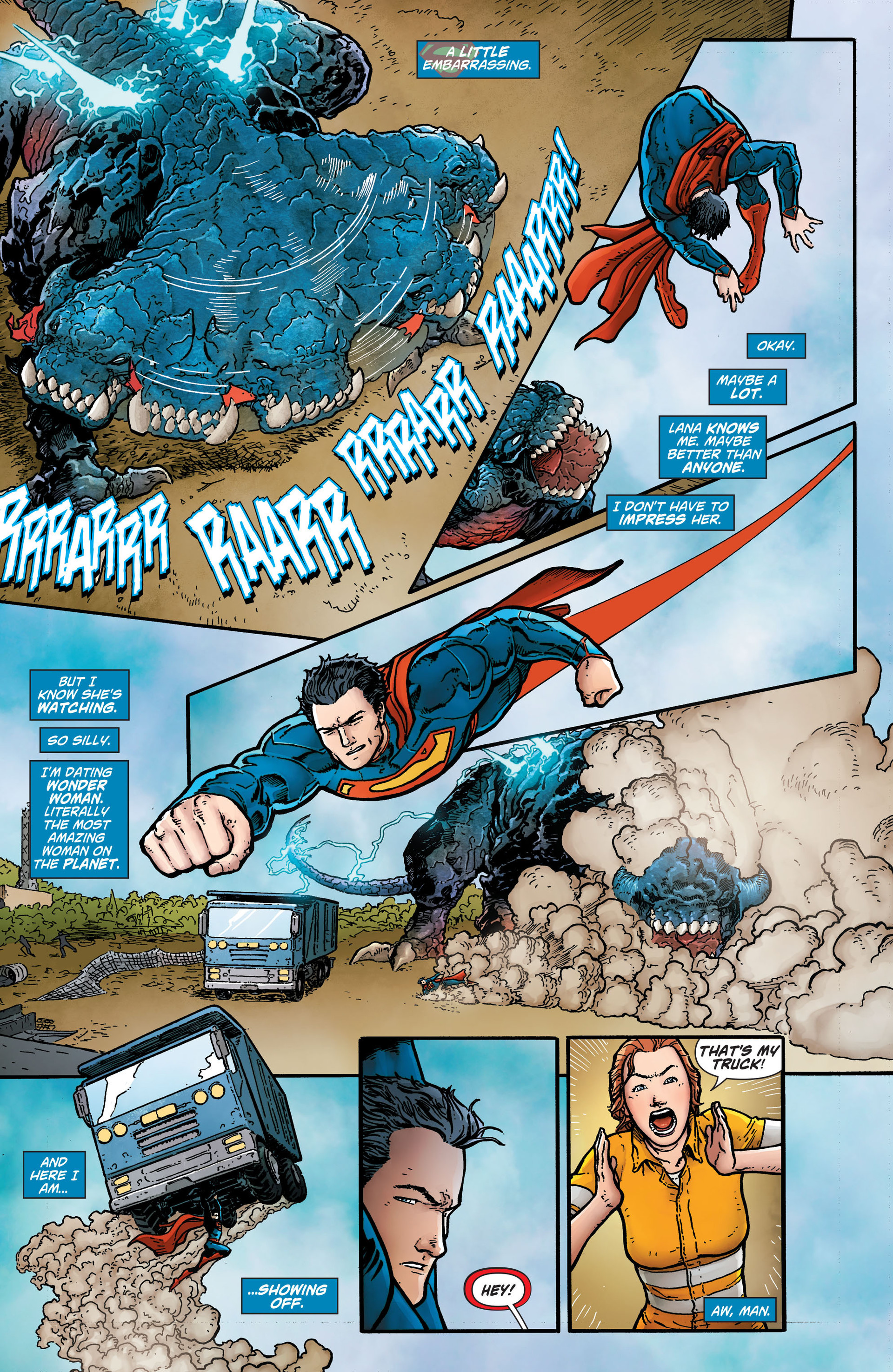 Read online Action Comics (2011) comic -  Issue #26 - 6