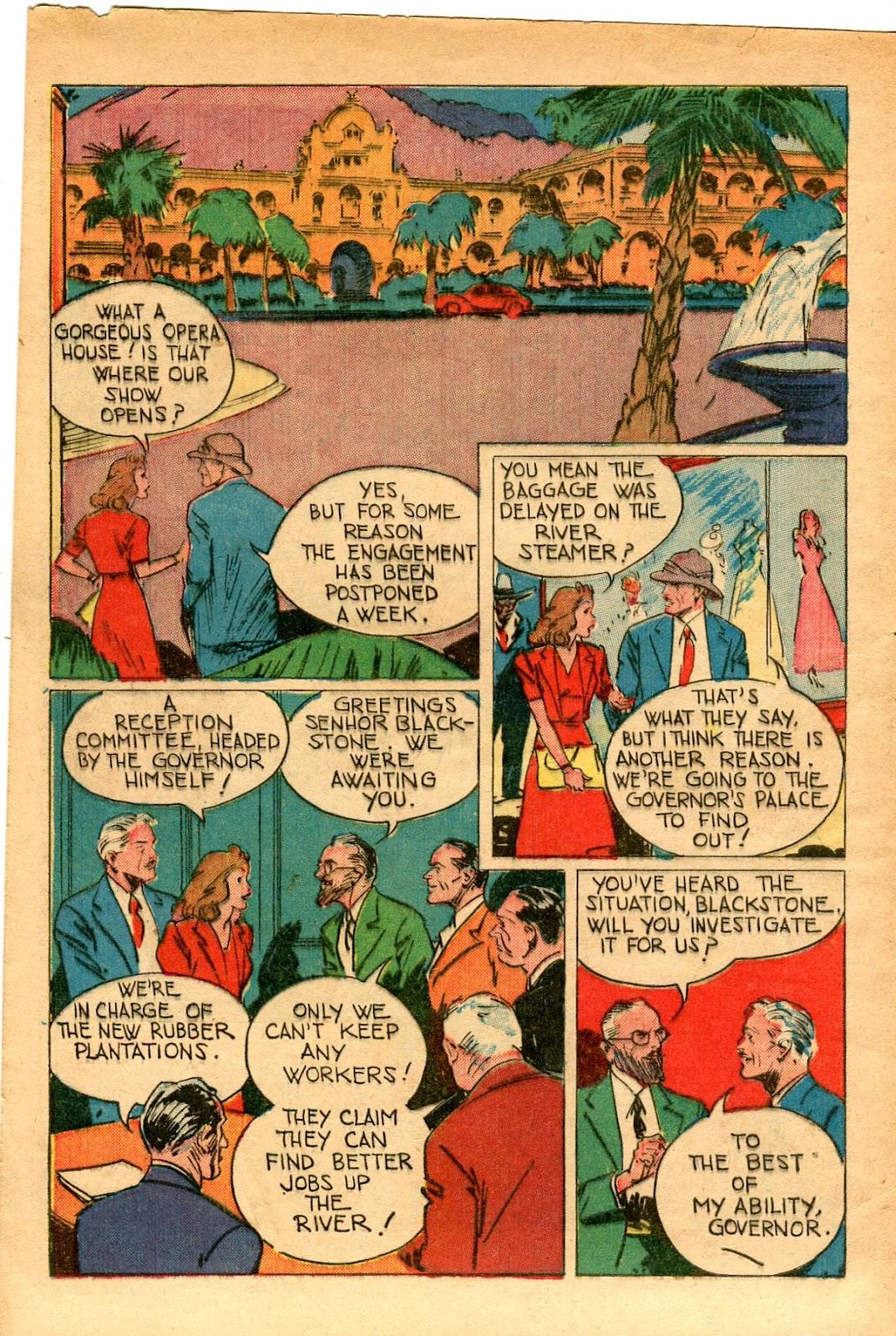 Read online Super-Magician Comics comic -  Issue #33 - 4