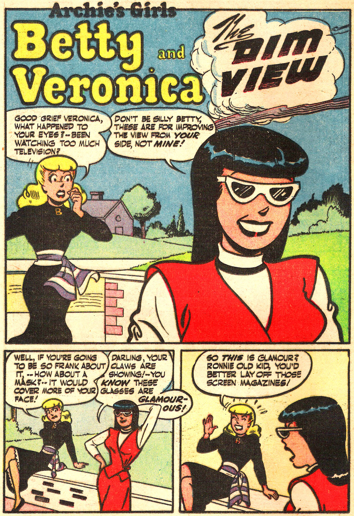 Read online Archie's Girls Betty and Veronica comic -  Issue #Archie's Girls Betty and Veronica Annual 1 - 68