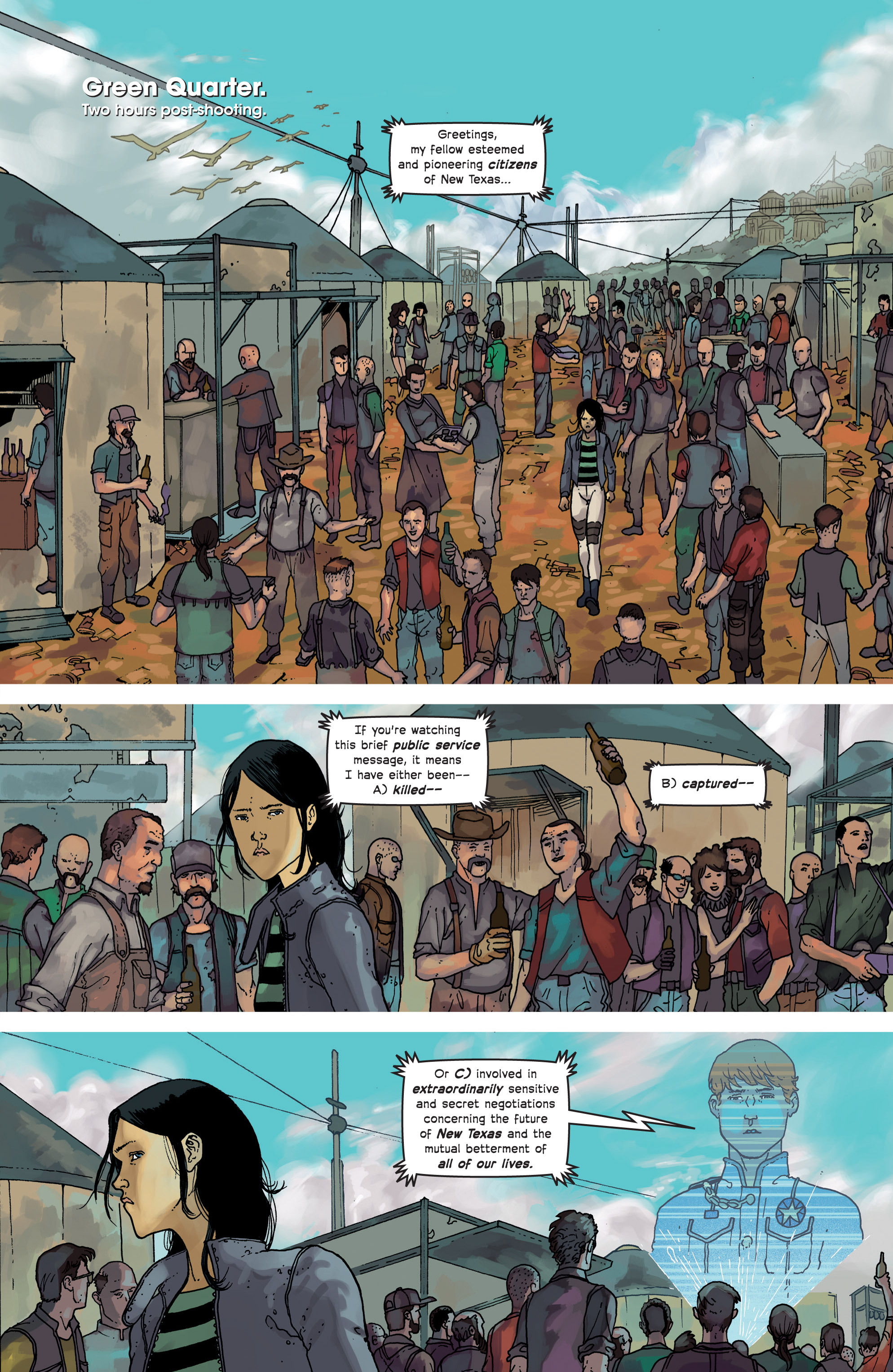 Read online Great Pacific comic -  Issue #8 - 11
