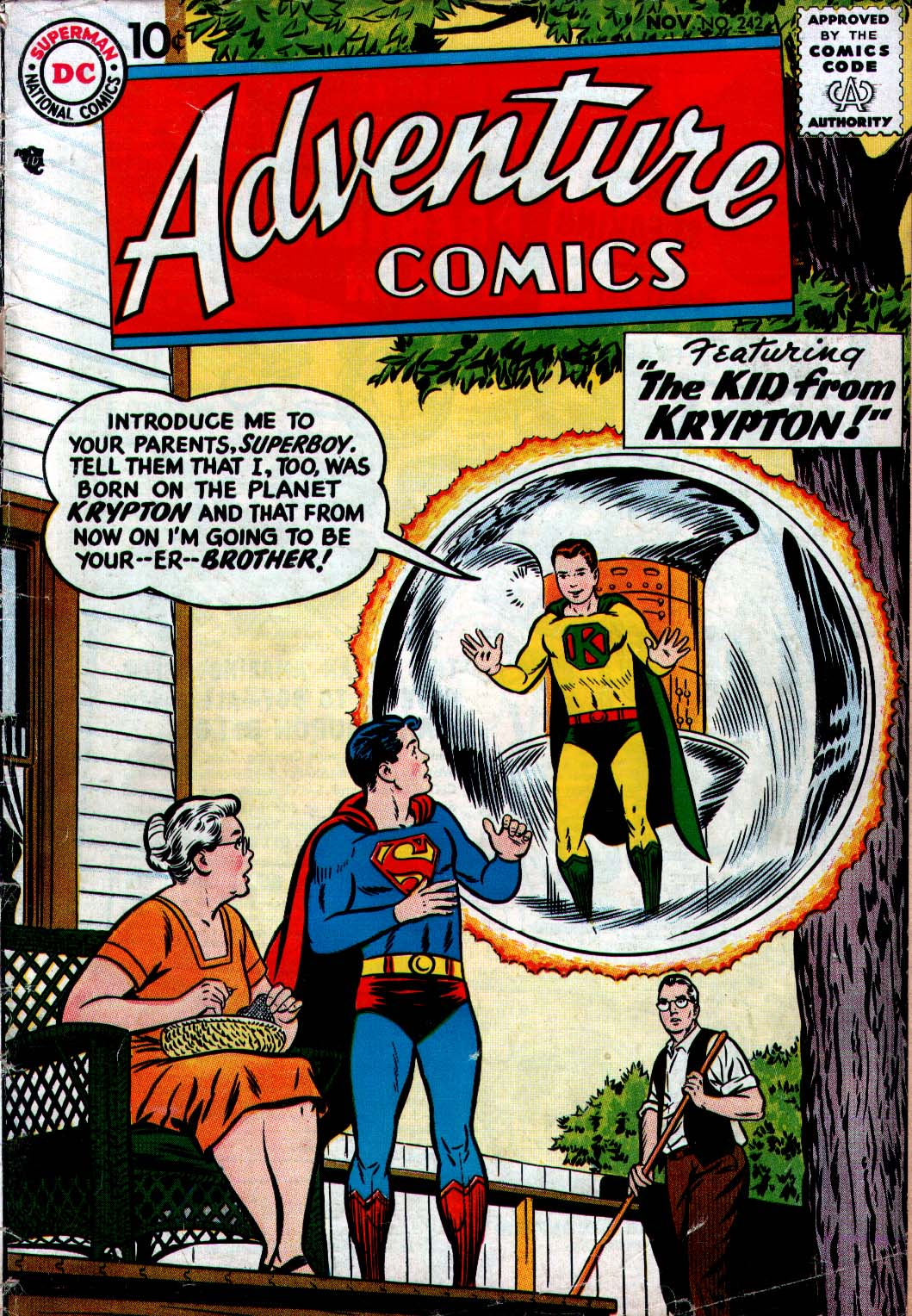 Read online Adventure Comics (1938) comic -  Issue #242 - 1