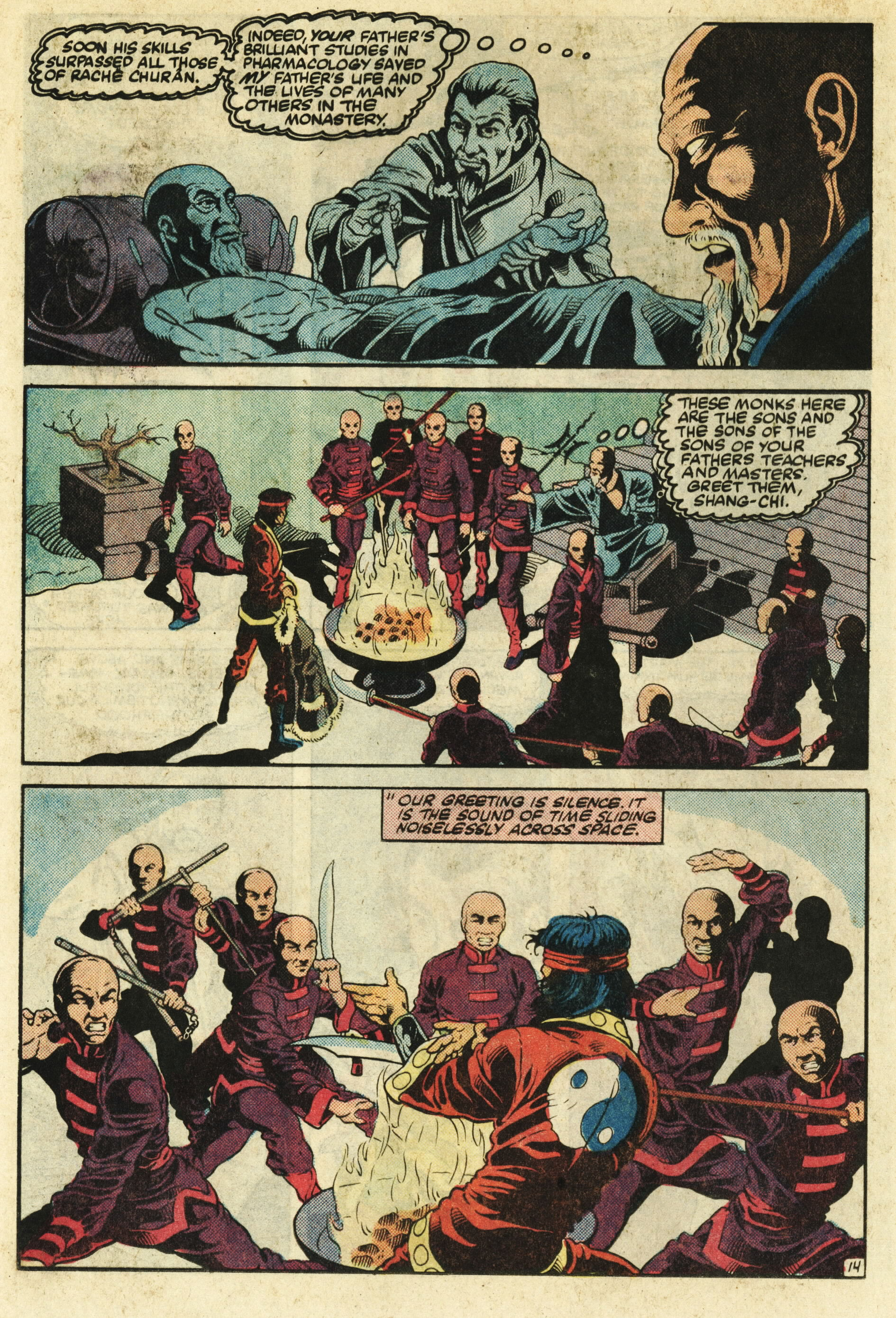 Read online Master of Kung Fu (1974) comic -  Issue #124 - 15