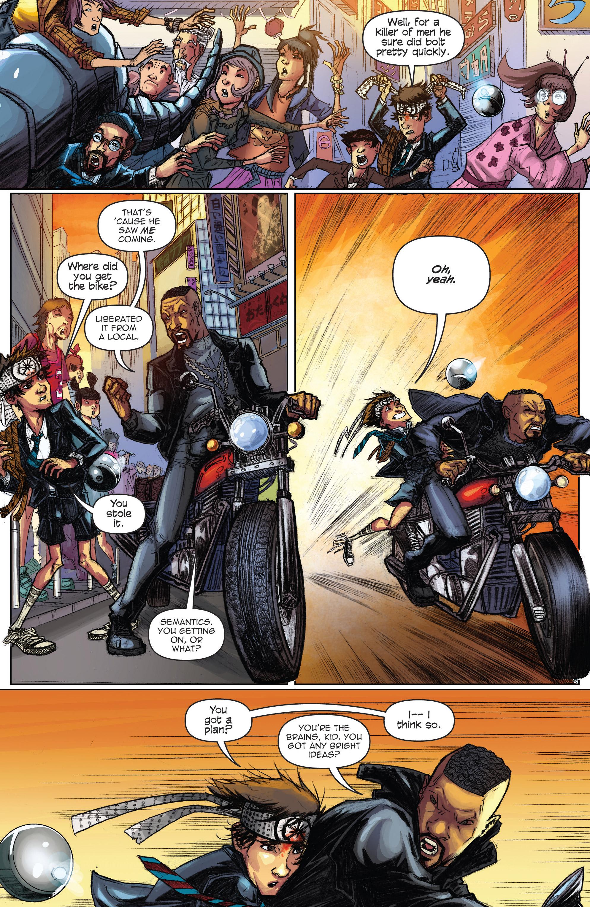 Read online Infinite Seven comic -  Issue #3 - 20