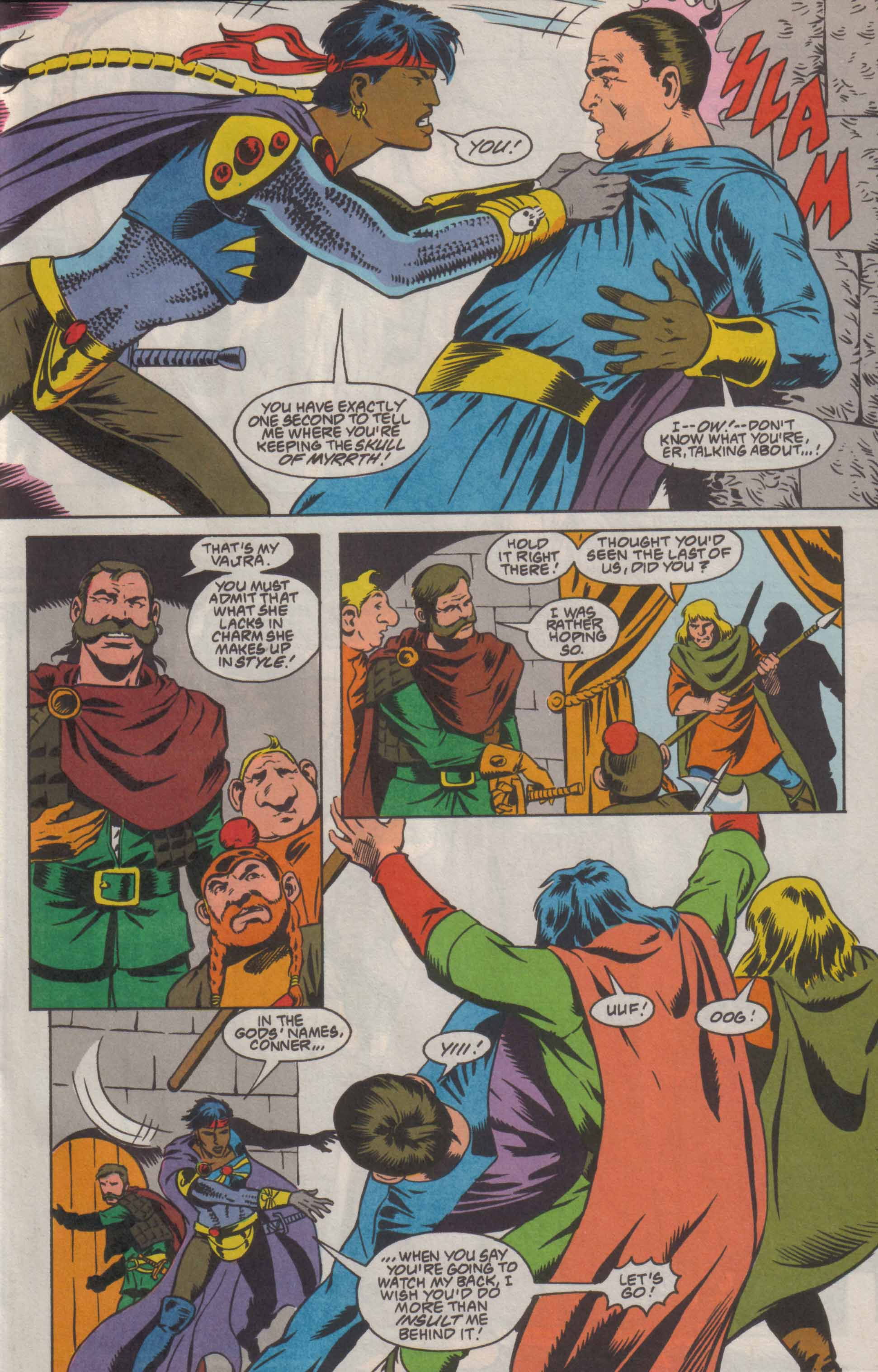 Read online Advanced Dungeons & Dragons comic -  Issue #8 - 14