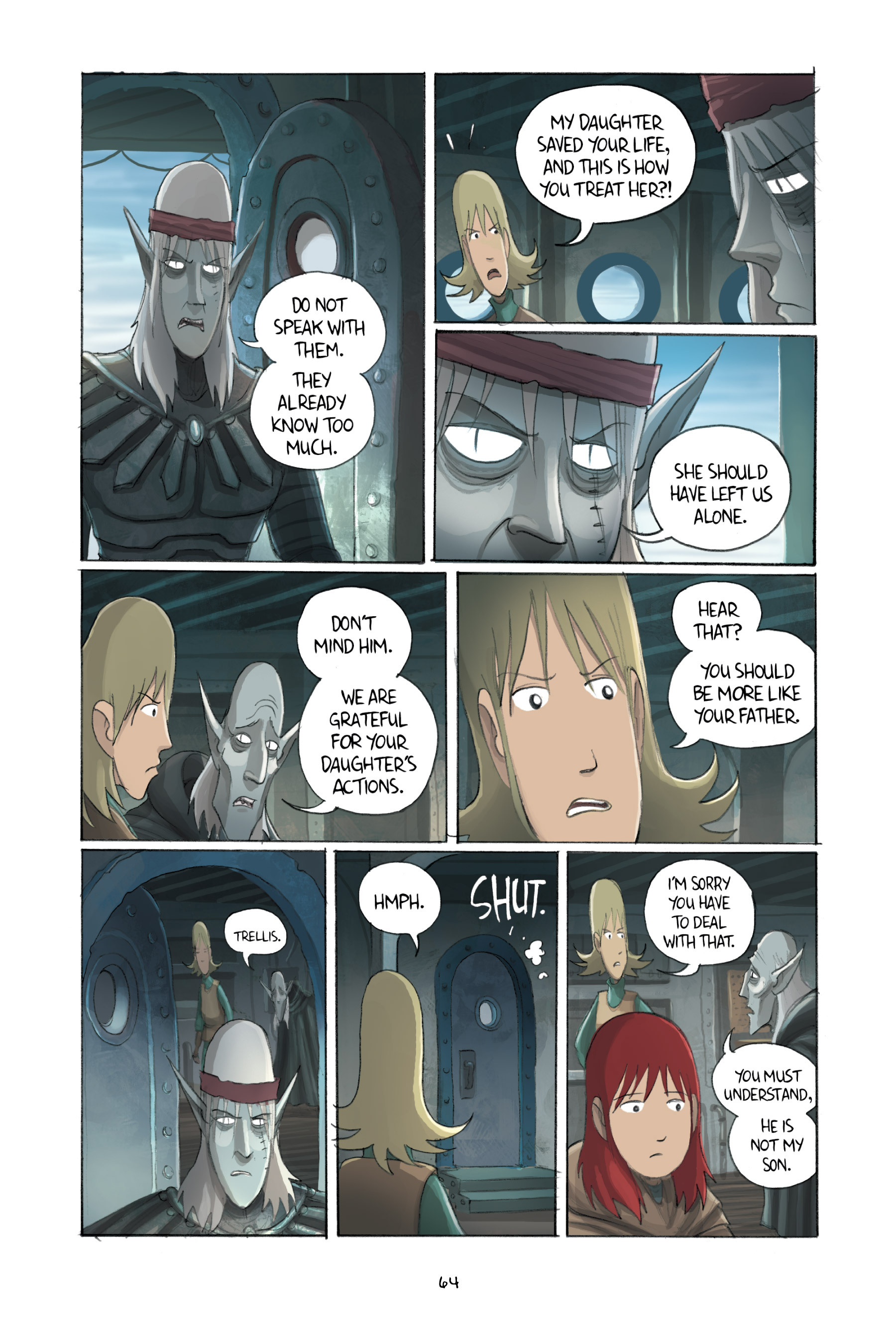 Read online Amulet comic -  Issue #3 - 62