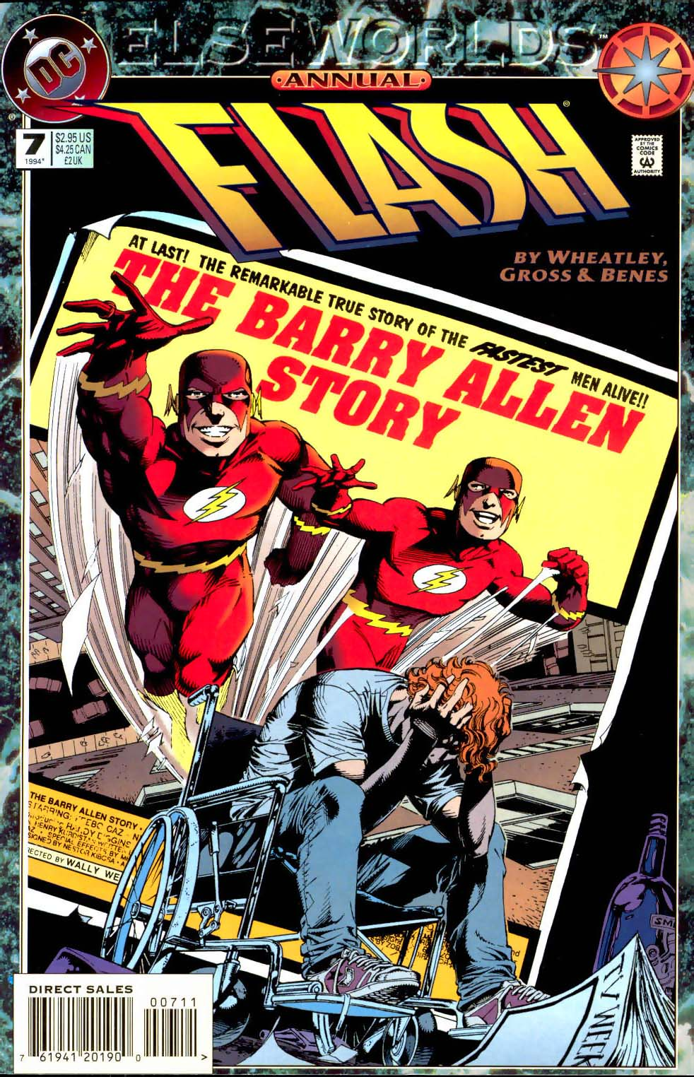 Read online The Flash (1987) comic -  Issue # _Annual 7 - 1