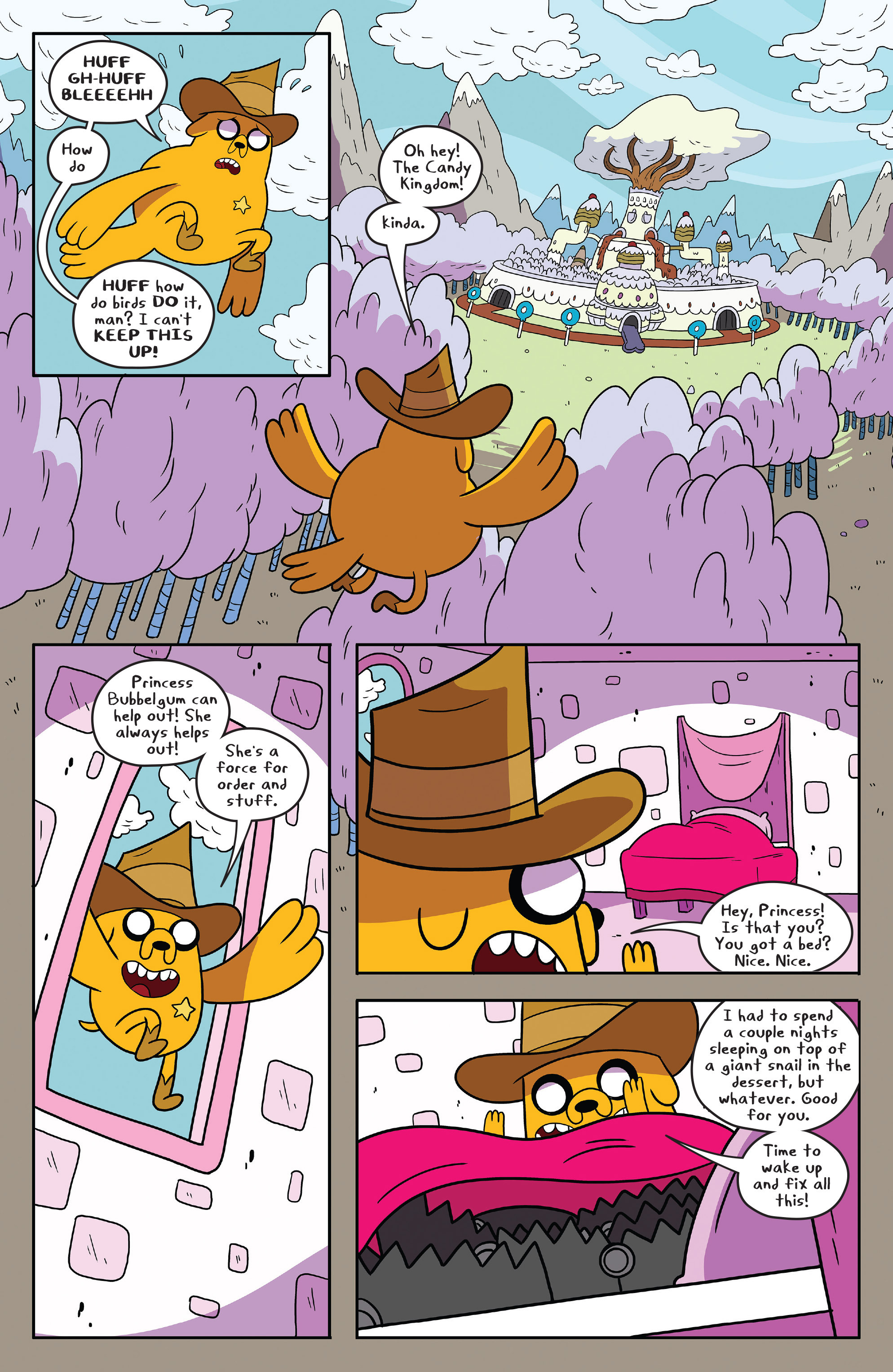 Read online Adventure Time comic -  Issue #55 - 18