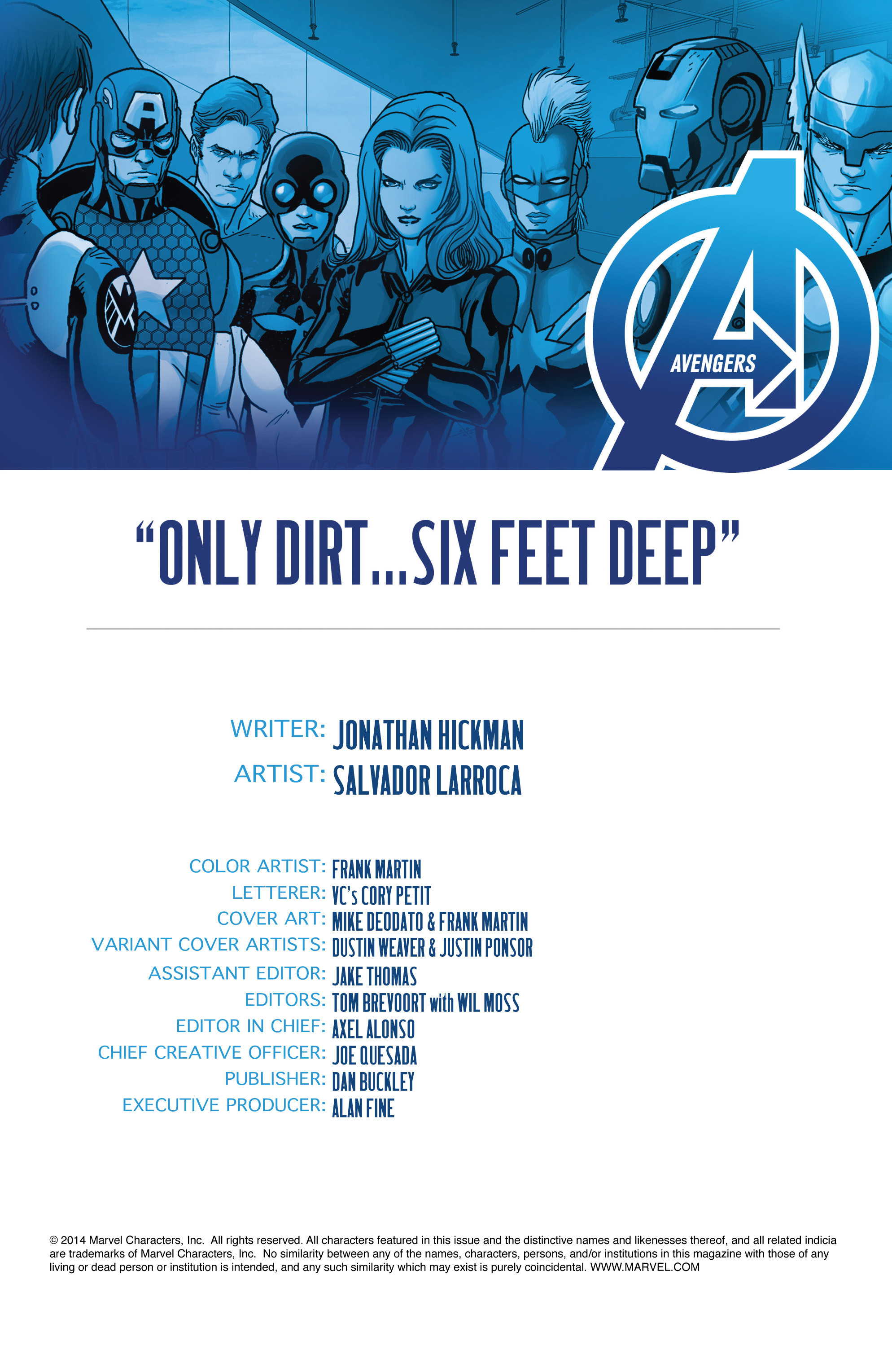Read online Avengers (2013) comic -  Issue #27 - 4