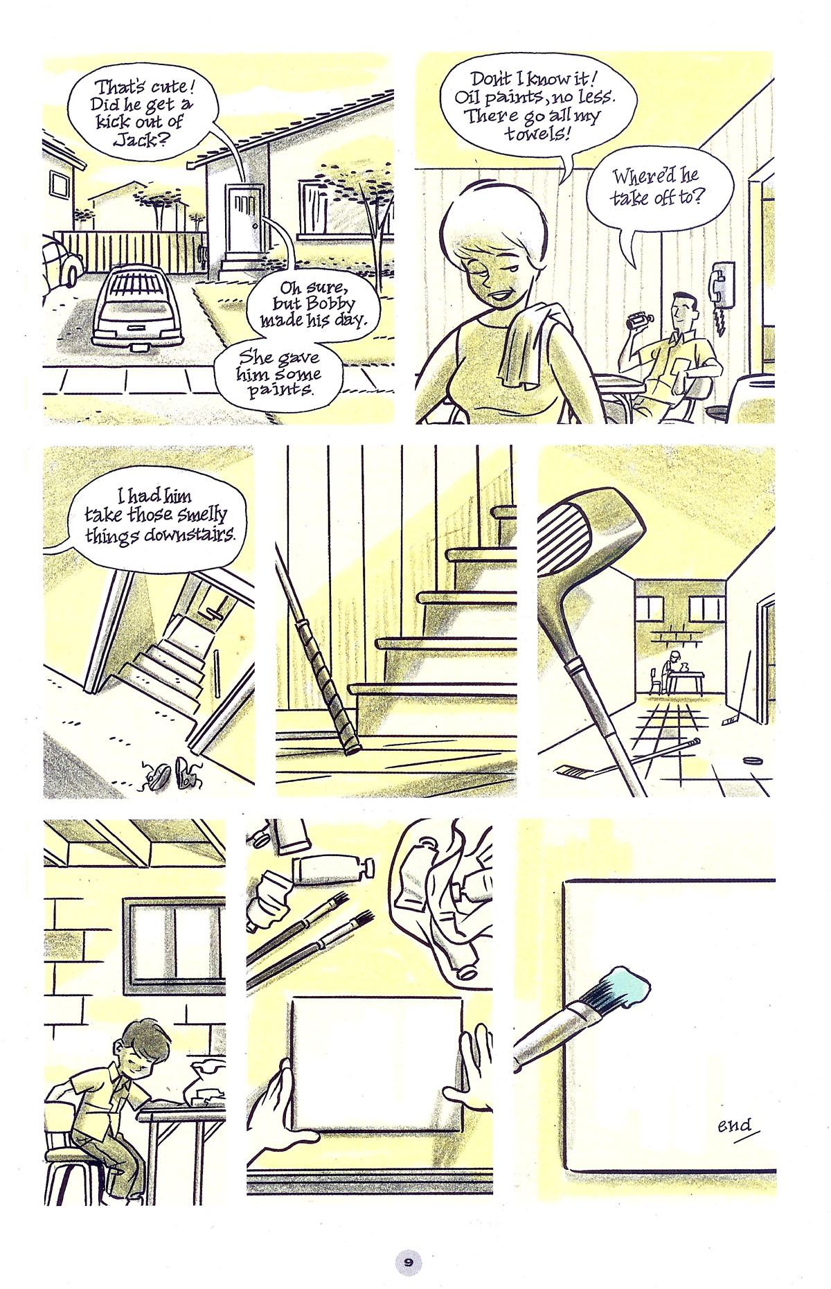 Read online Solo (2004) comic -  Issue #5 - 10