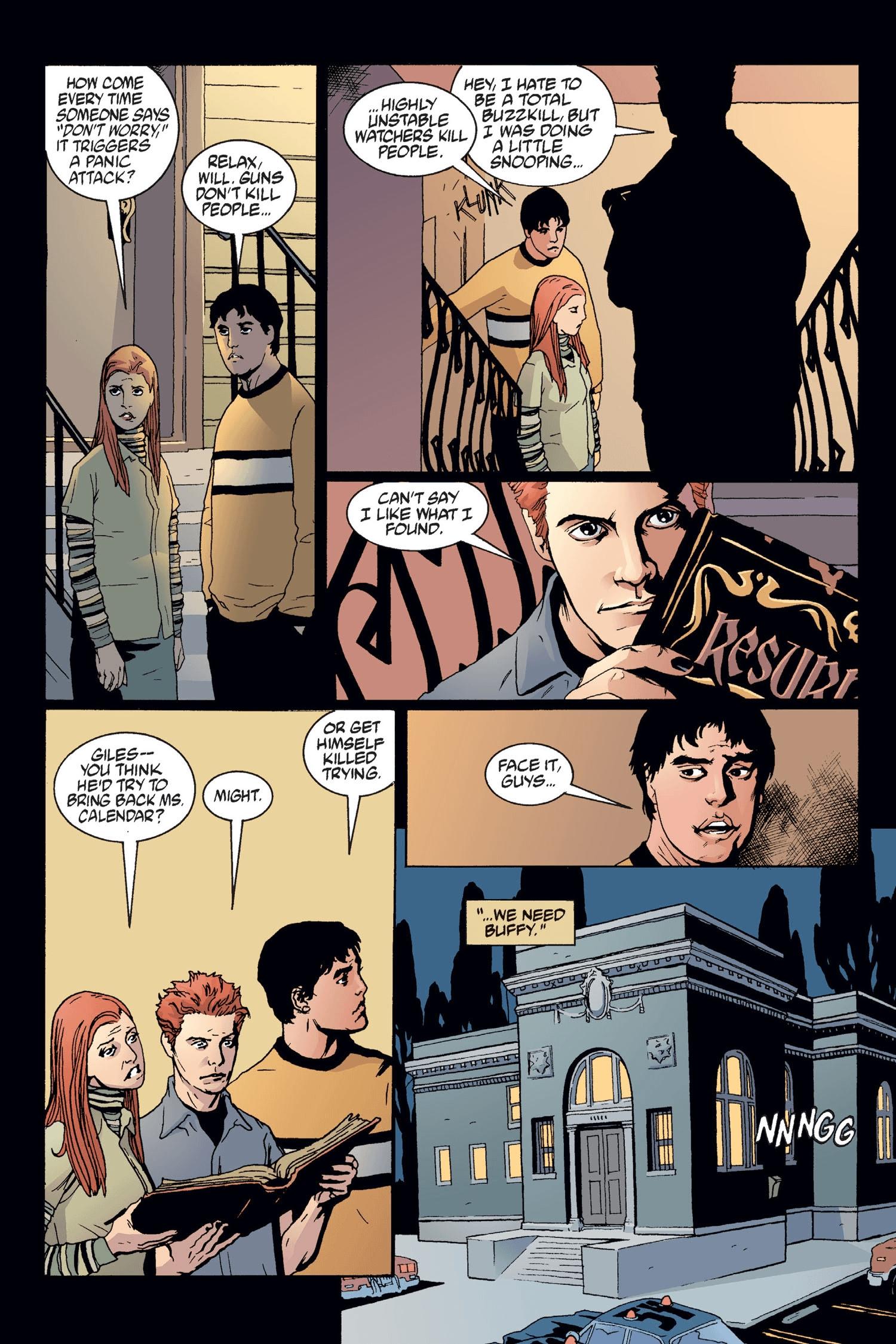 Read online Buffy the Vampire Slayer: Omnibus comic -  Issue # TPB 2 - 177