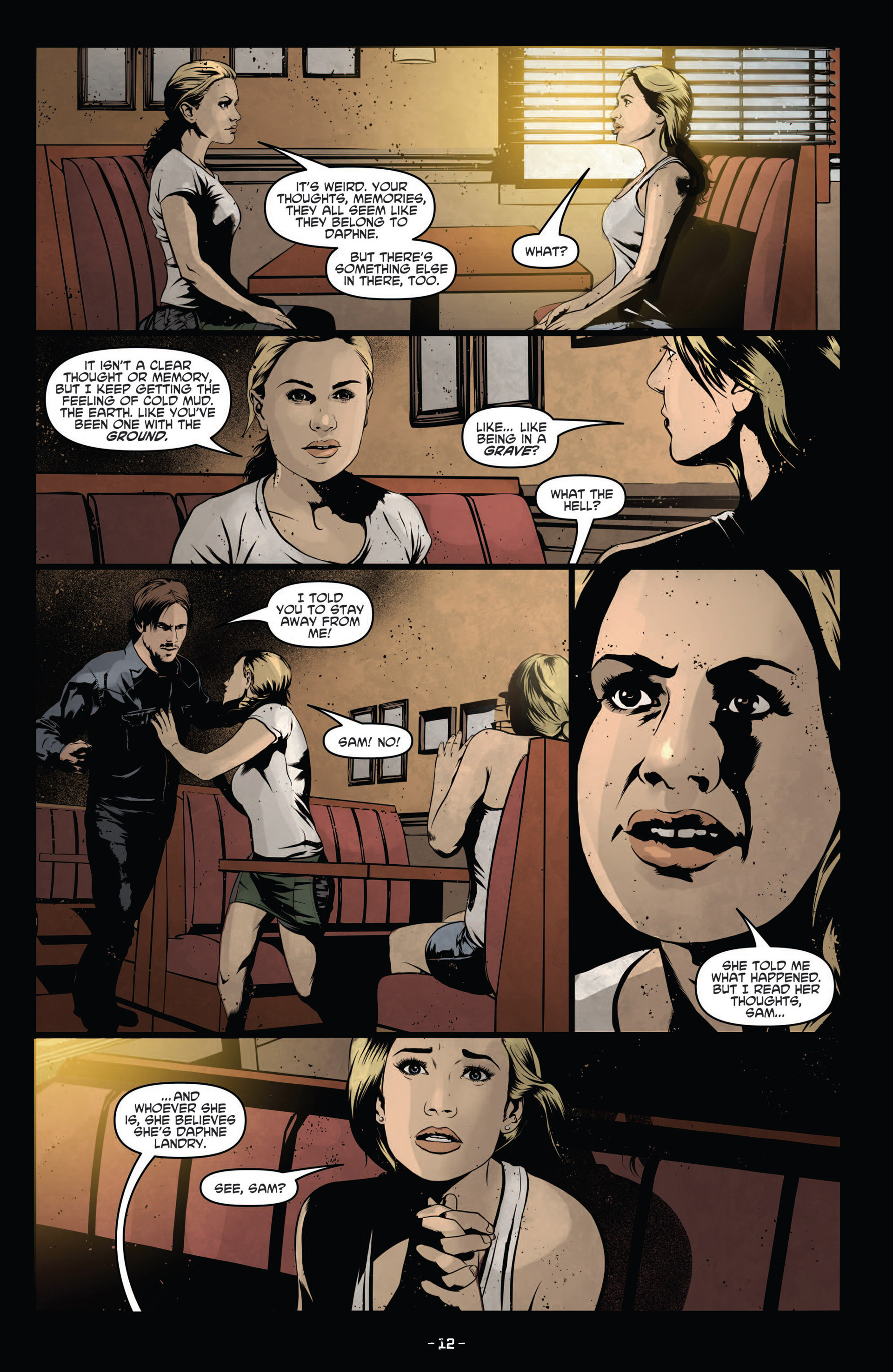 Read online True Blood (2012) comic -  Issue #12 - 14