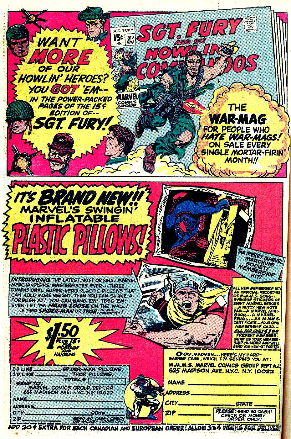 Read online Sgt. Fury comic -  Issue # _Special 5 - 48
