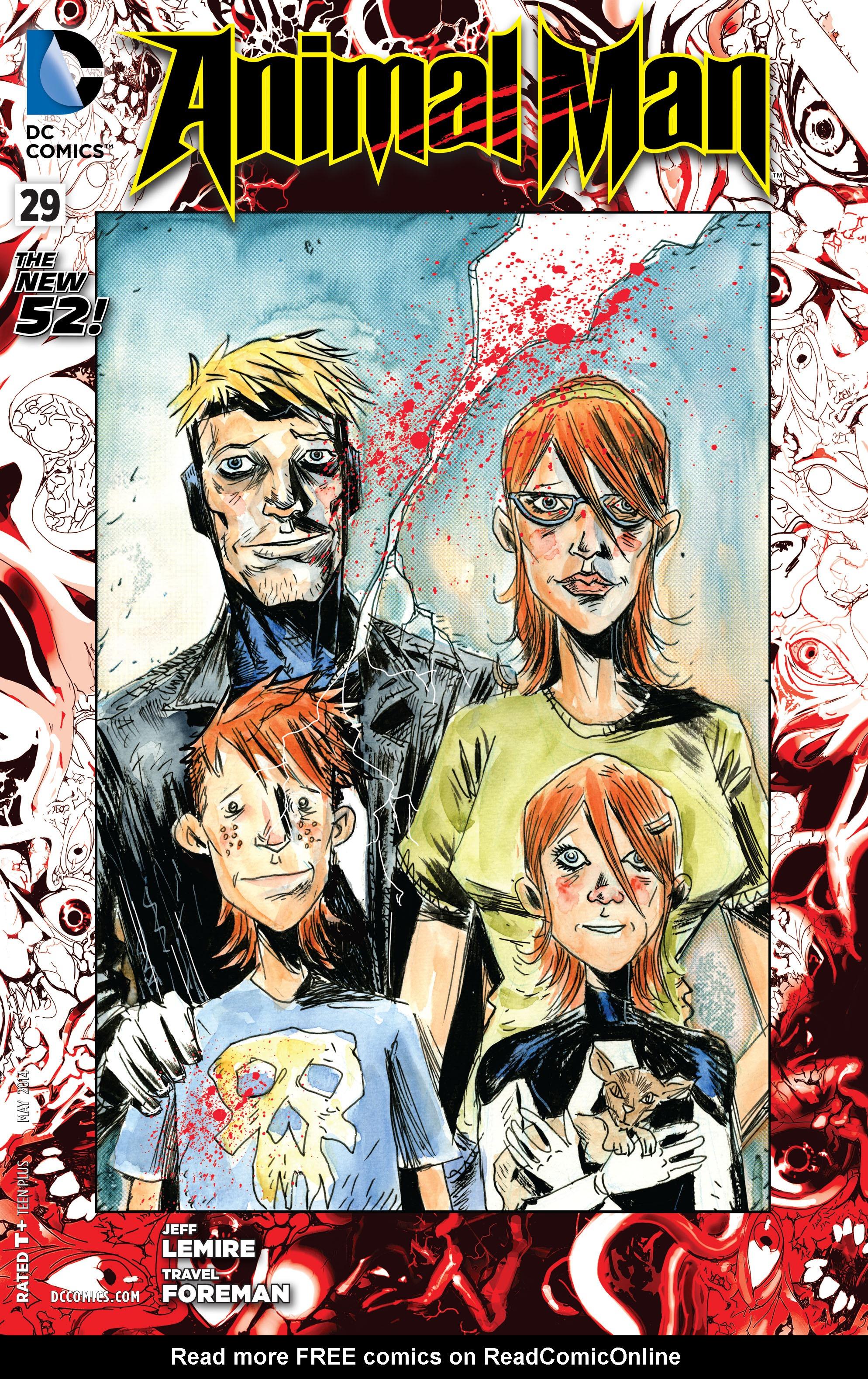 Read online Animal Man (2011) comic -  Issue #29 - 1