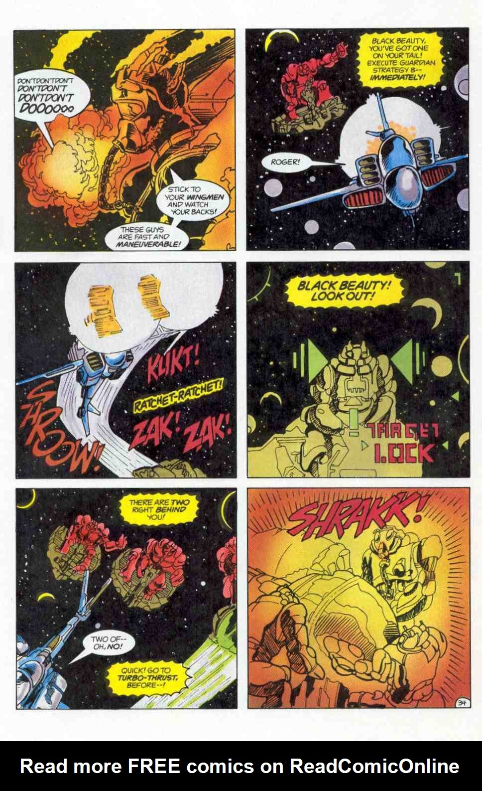 Robotech Special issue Full - Page 35