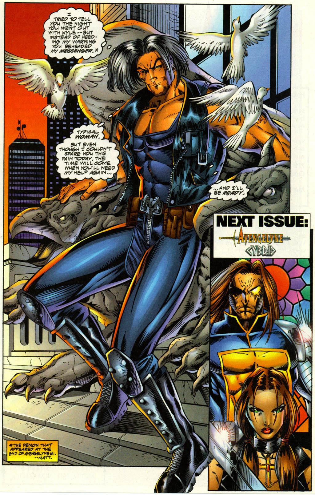Read online Avengelyne (1996) comic -  Issue #3 - 26