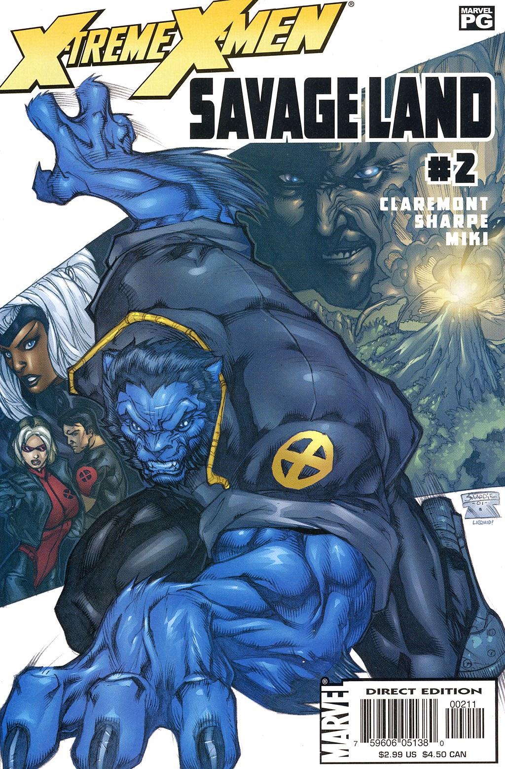 X-Treme X-Men: Savage Land 2 Page 1