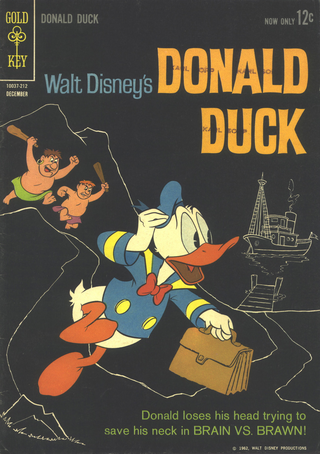 Walt Disney's Donald Duck (1952) issue 85 - Page 1