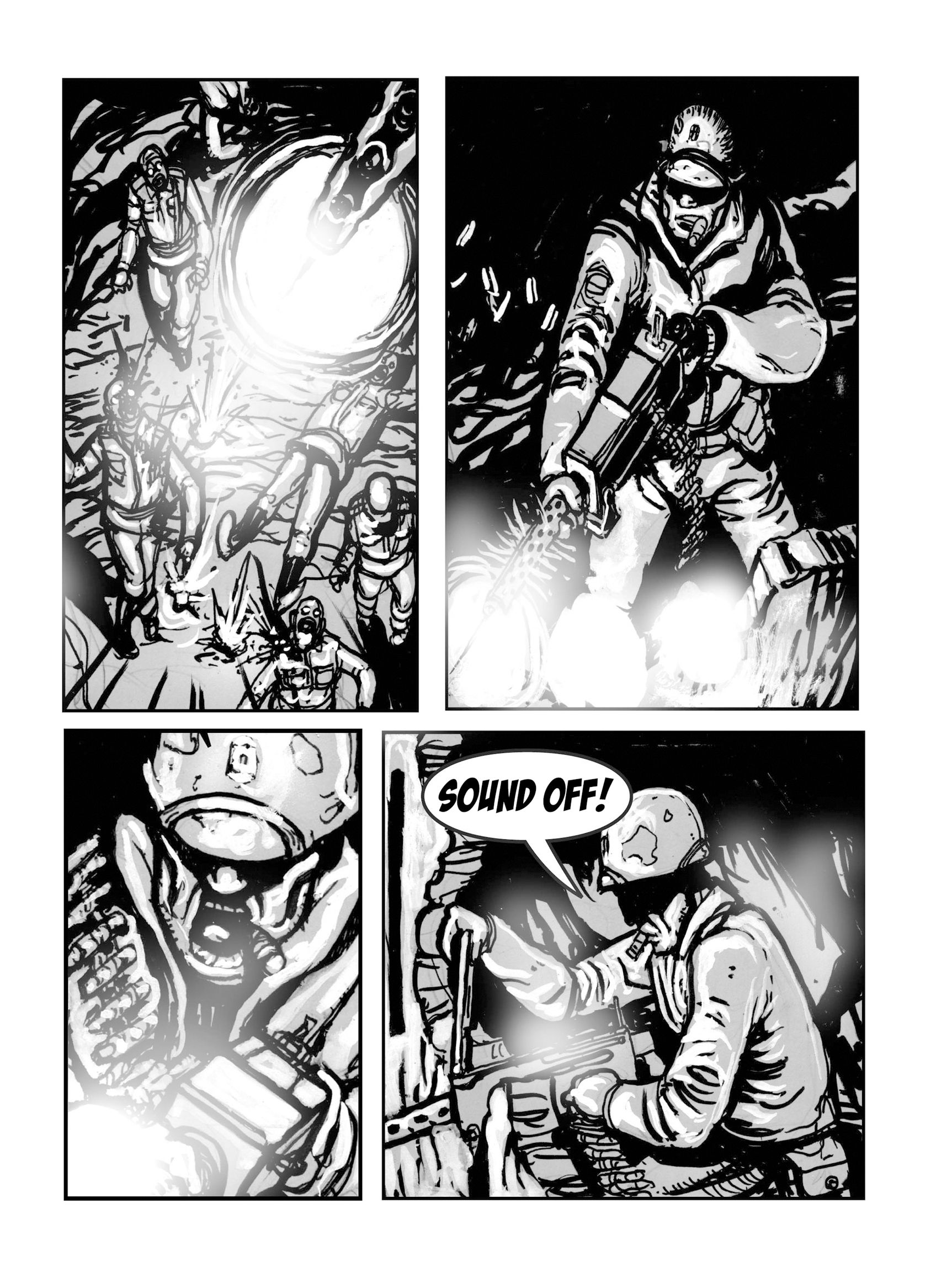 Read online FUBAR comic -  Issue #1 - 135