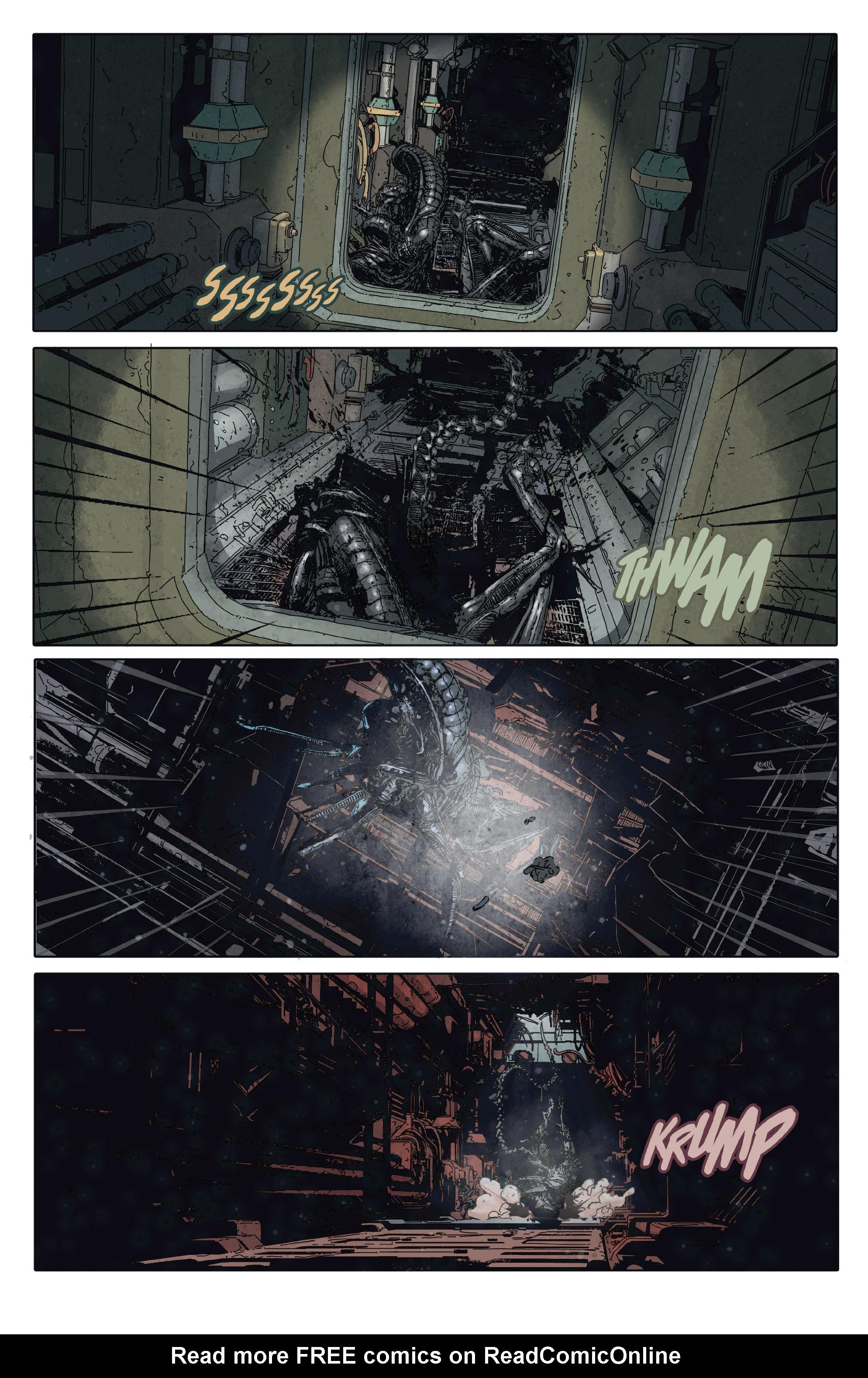 Read online Aliens: Defiance comic -  Issue #2 - 10