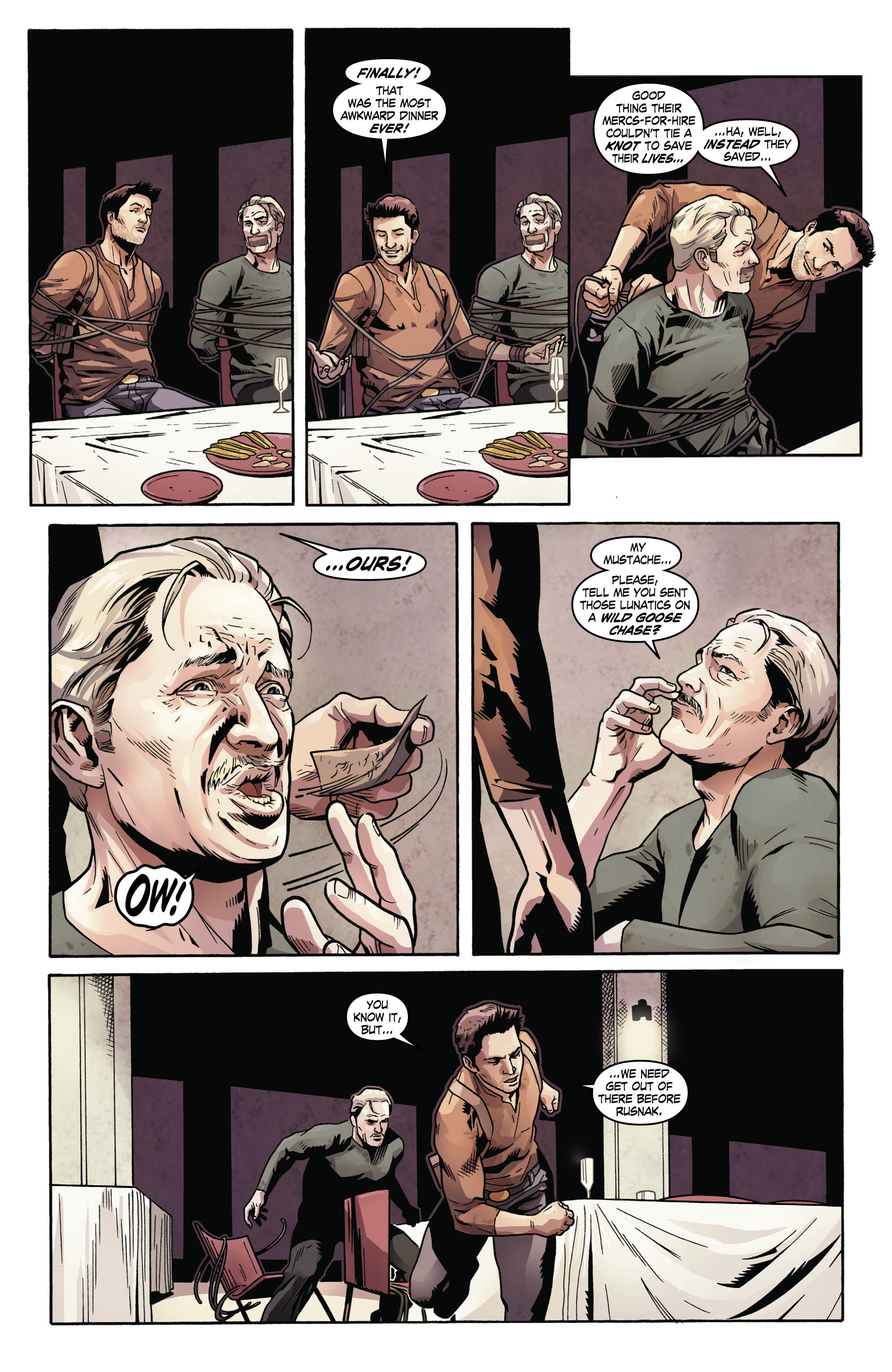 Read online Uncharted comic -  Issue #2 - 20
