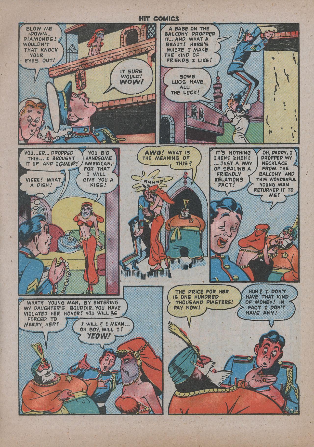Read online Hit Comics comic -  Issue #62 - 25