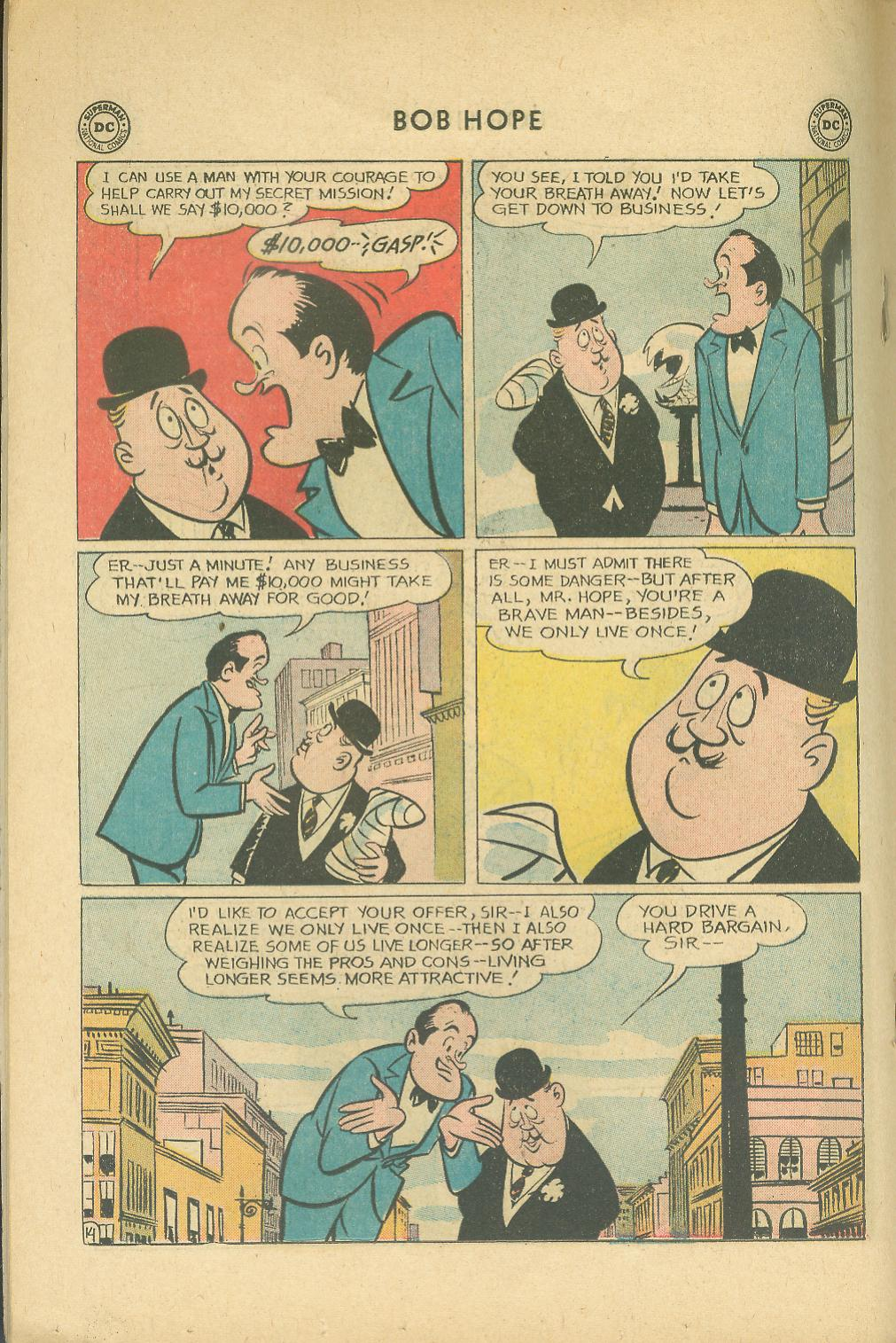 The Adventures of Bob Hope issue 76 - Page 20
