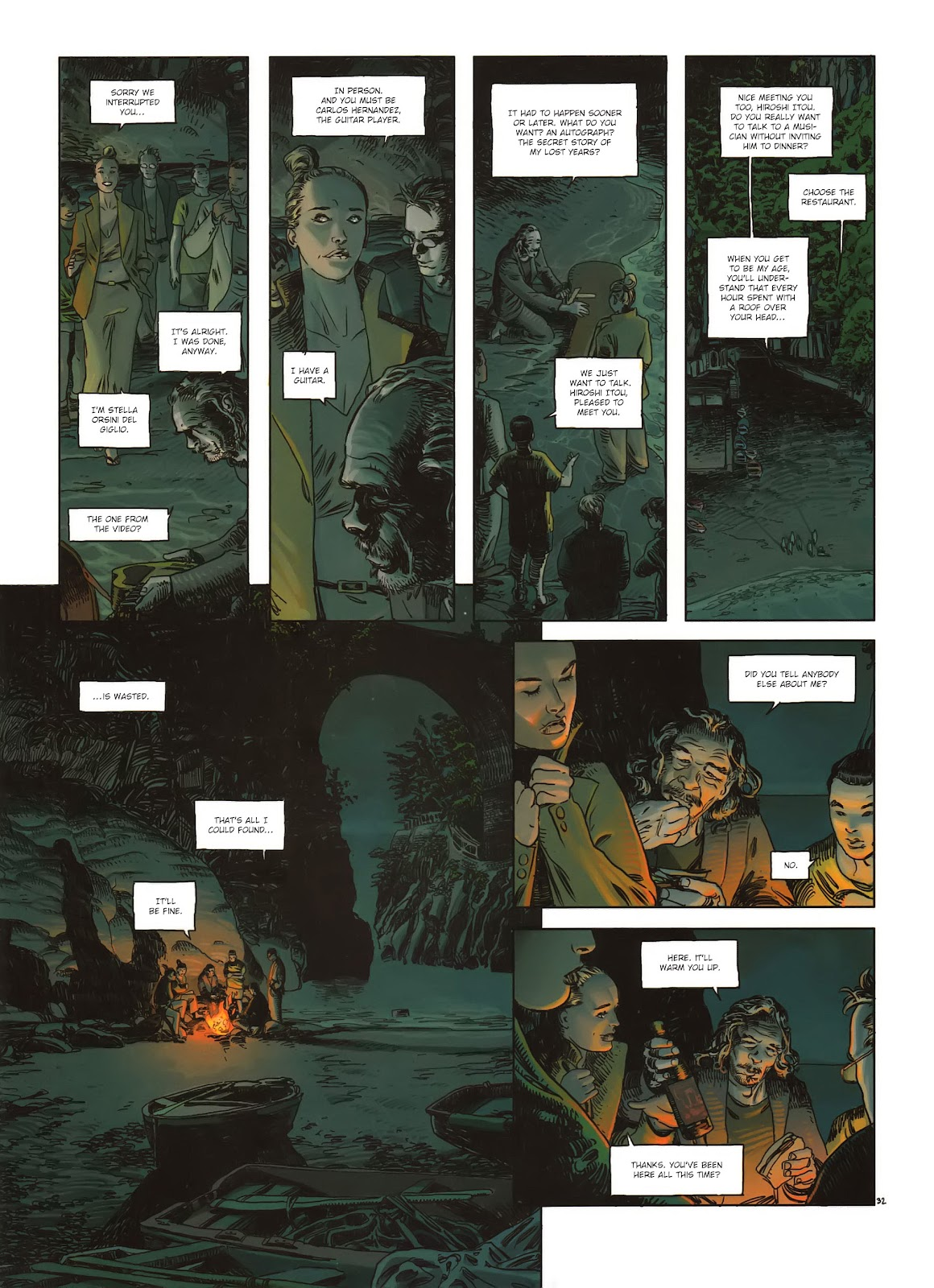 Read online Cutting Edge (2013) comic -  Issue #1 - 32