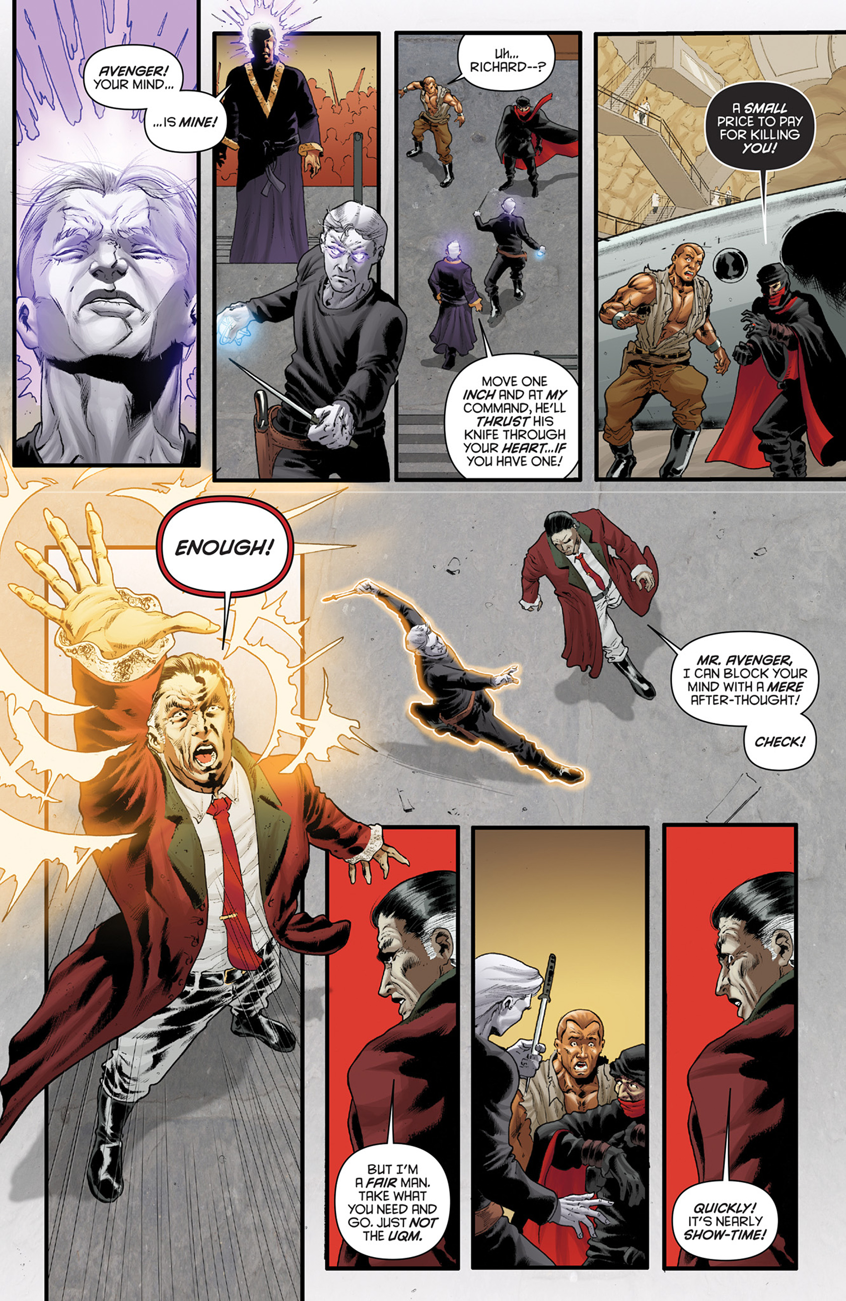 Read online Justice, Inc. comic -  Issue #4 - 14