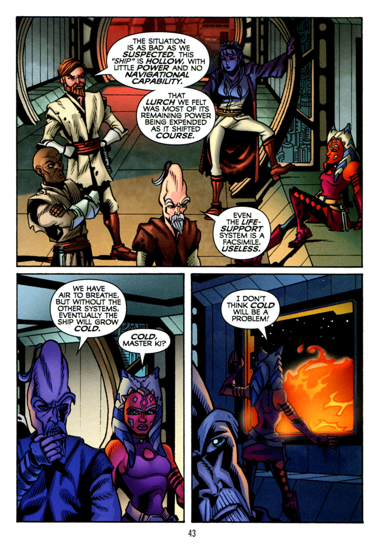 Read online Star Wars: The Clone Wars - The Starcrusher Trap comic -  Issue # Full - 44