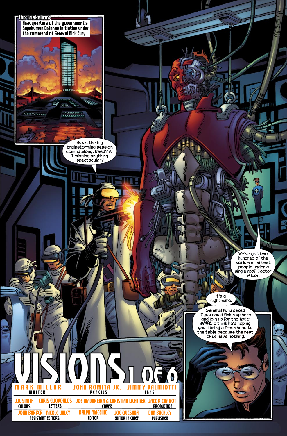 Read online Ultimate Vision comic -  Issue #0 - 3