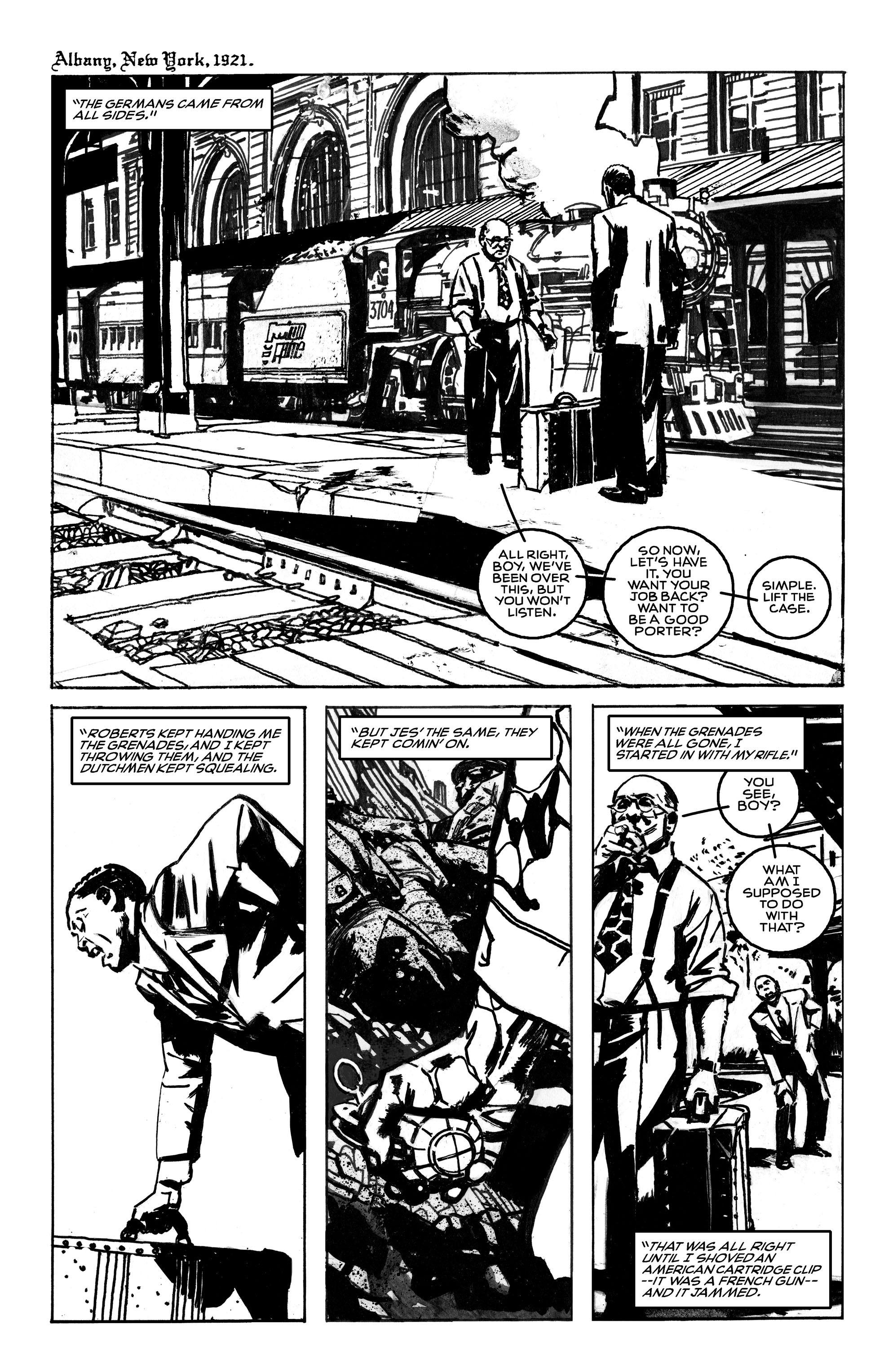 Read online Black Death in America comic -  Issue # Full - 5