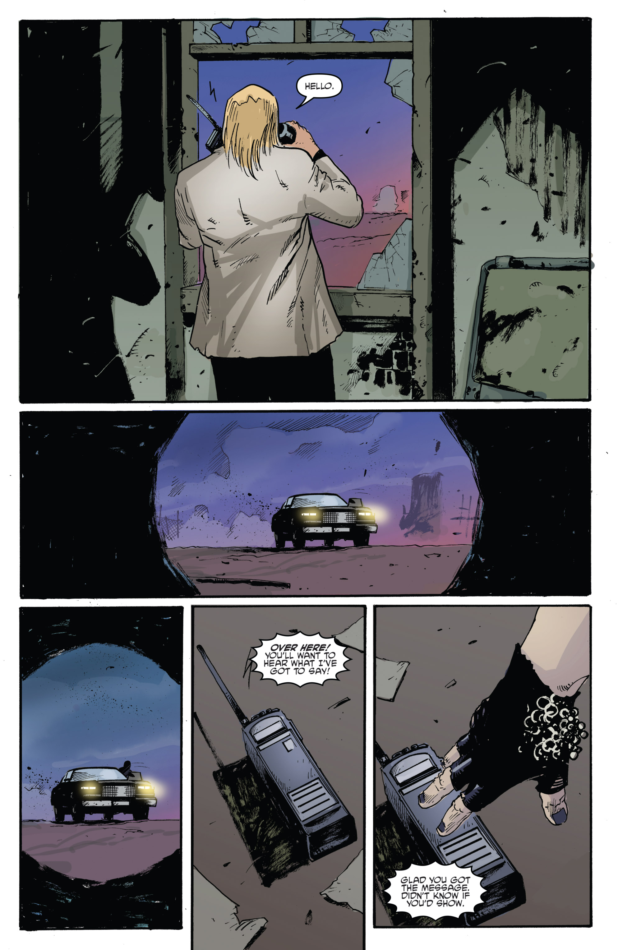 Read online Highlander: The American Dream comic -  Issue #4 - 21