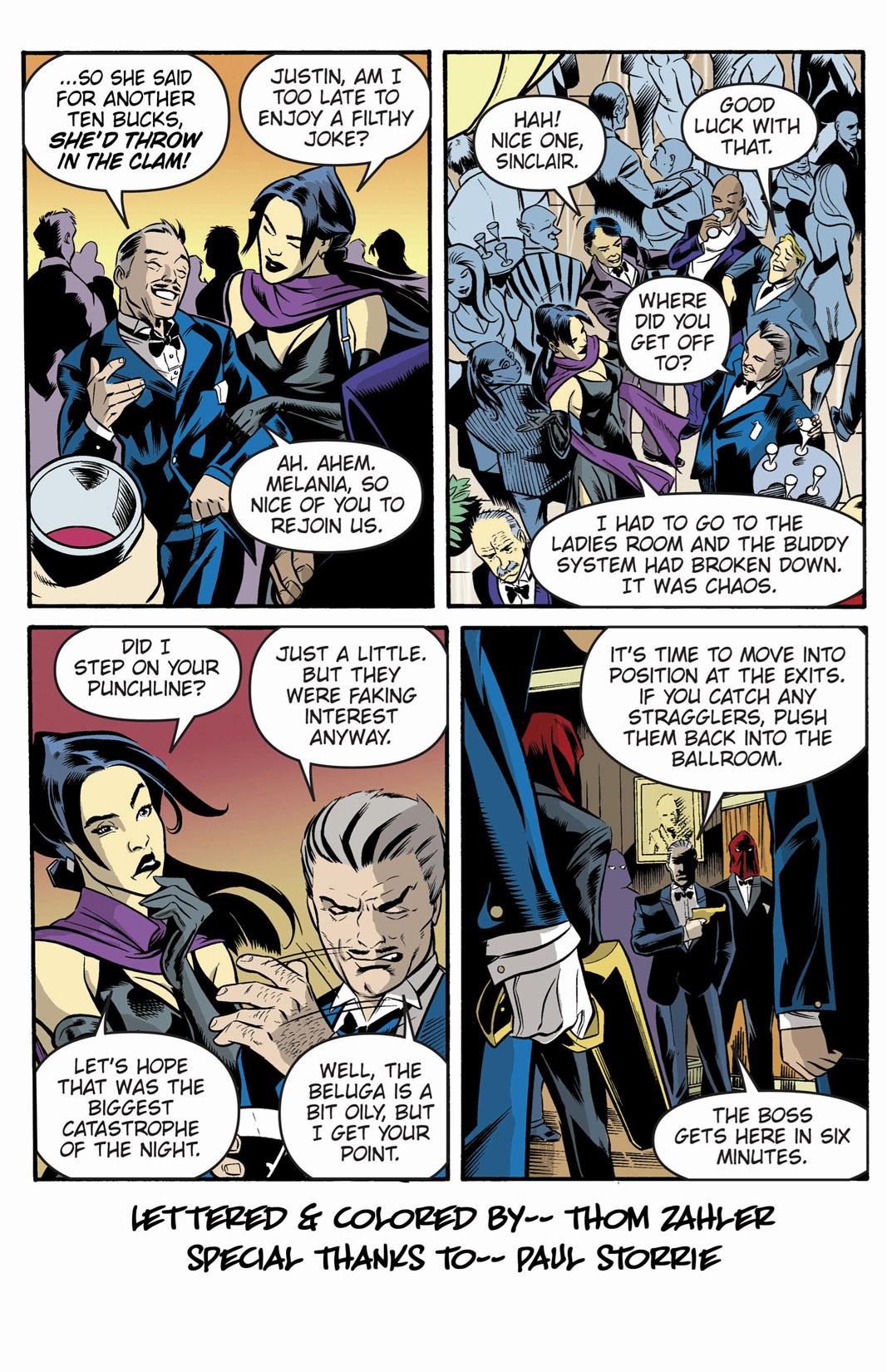 Read online SideChicks comic -  Issue #1 - 5