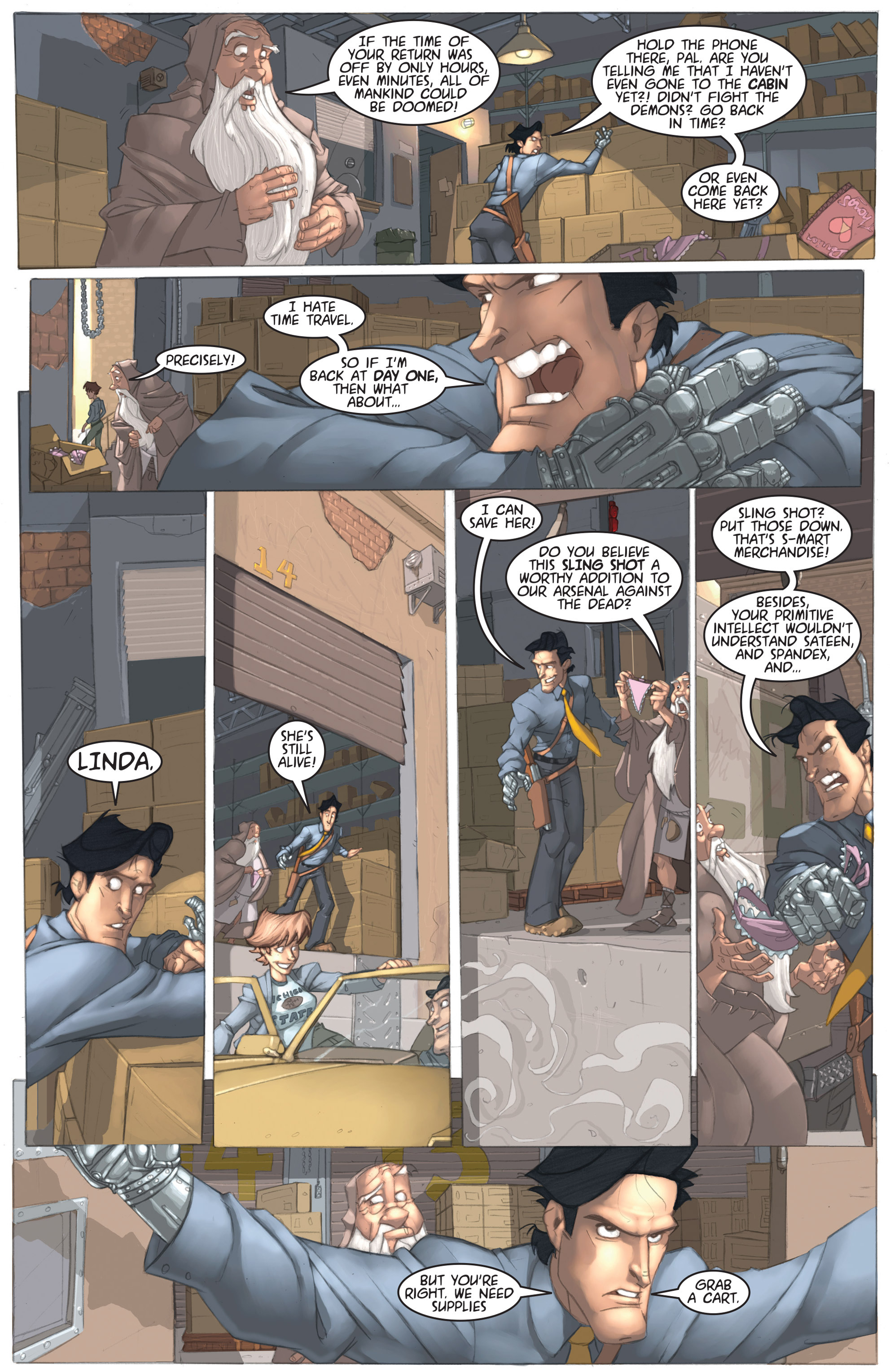 Read online Army of Darkness: Ashes 2 Ashes comic -  Issue #1 - 16