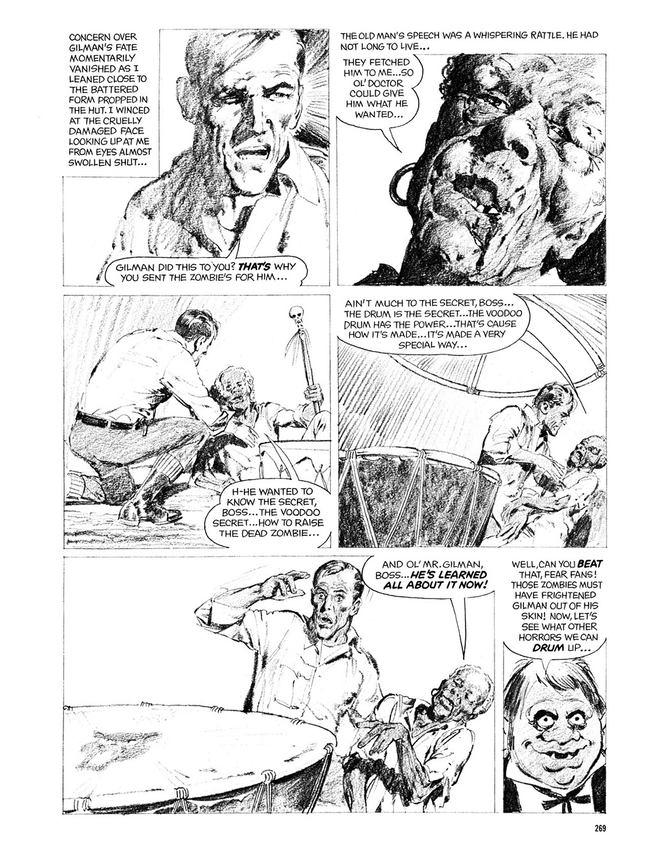Read online Eerie Archives comic -  Issue # TPB 2 - 270