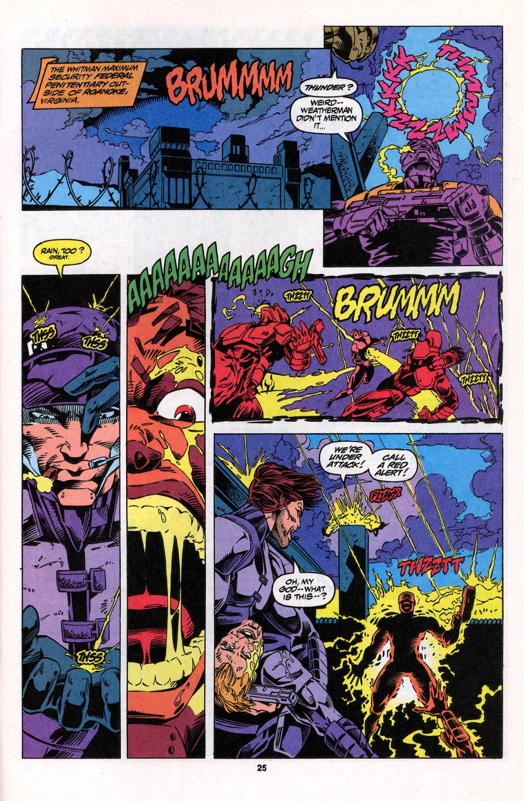 X-Force (1991) Issue #26 #31 - English 25