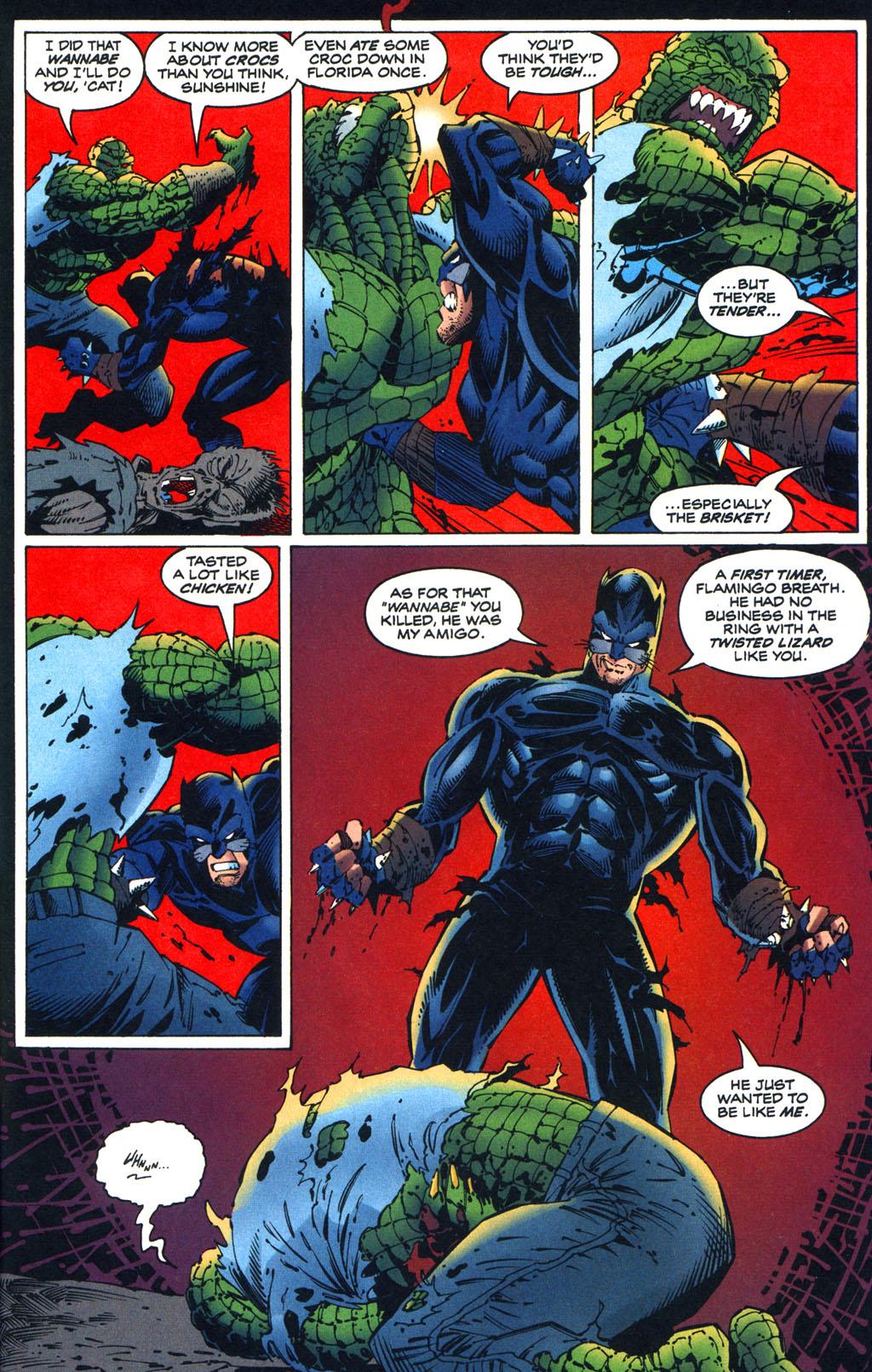 Read online Batman/Wildcat comic -  Issue #3 - 14