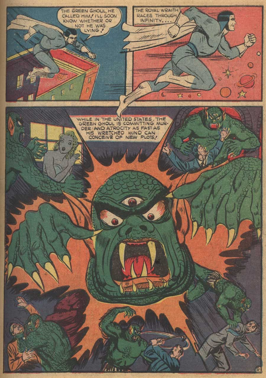 Blue Ribbon Comics (1939) issue 16 - Page 11