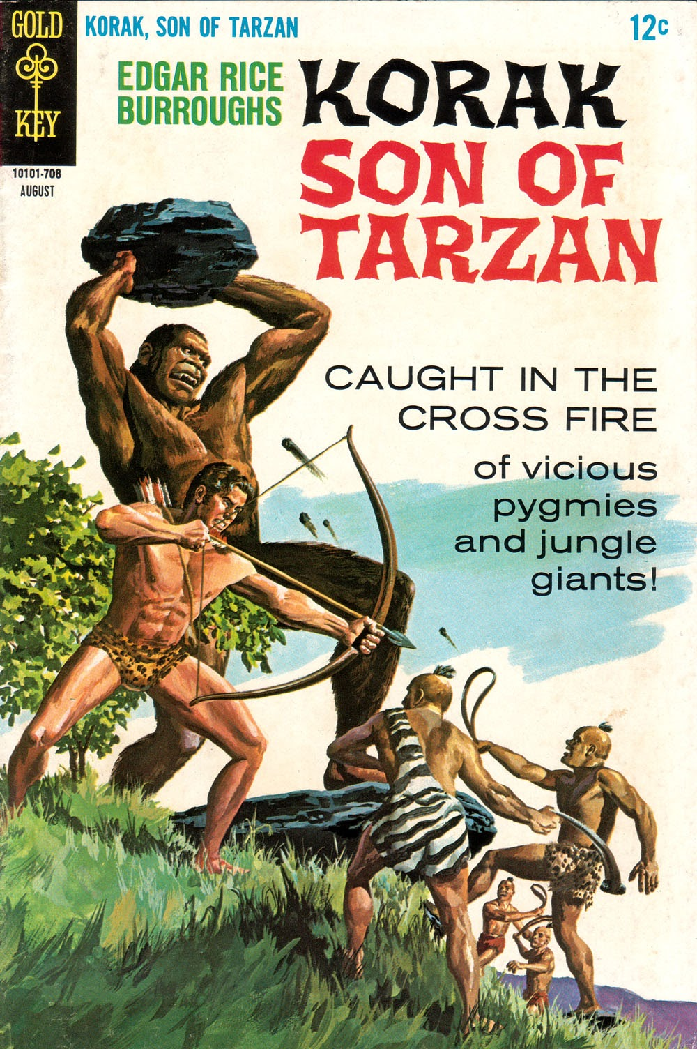Korak, Son of Tarzan (1964) issue 18 - Page 1