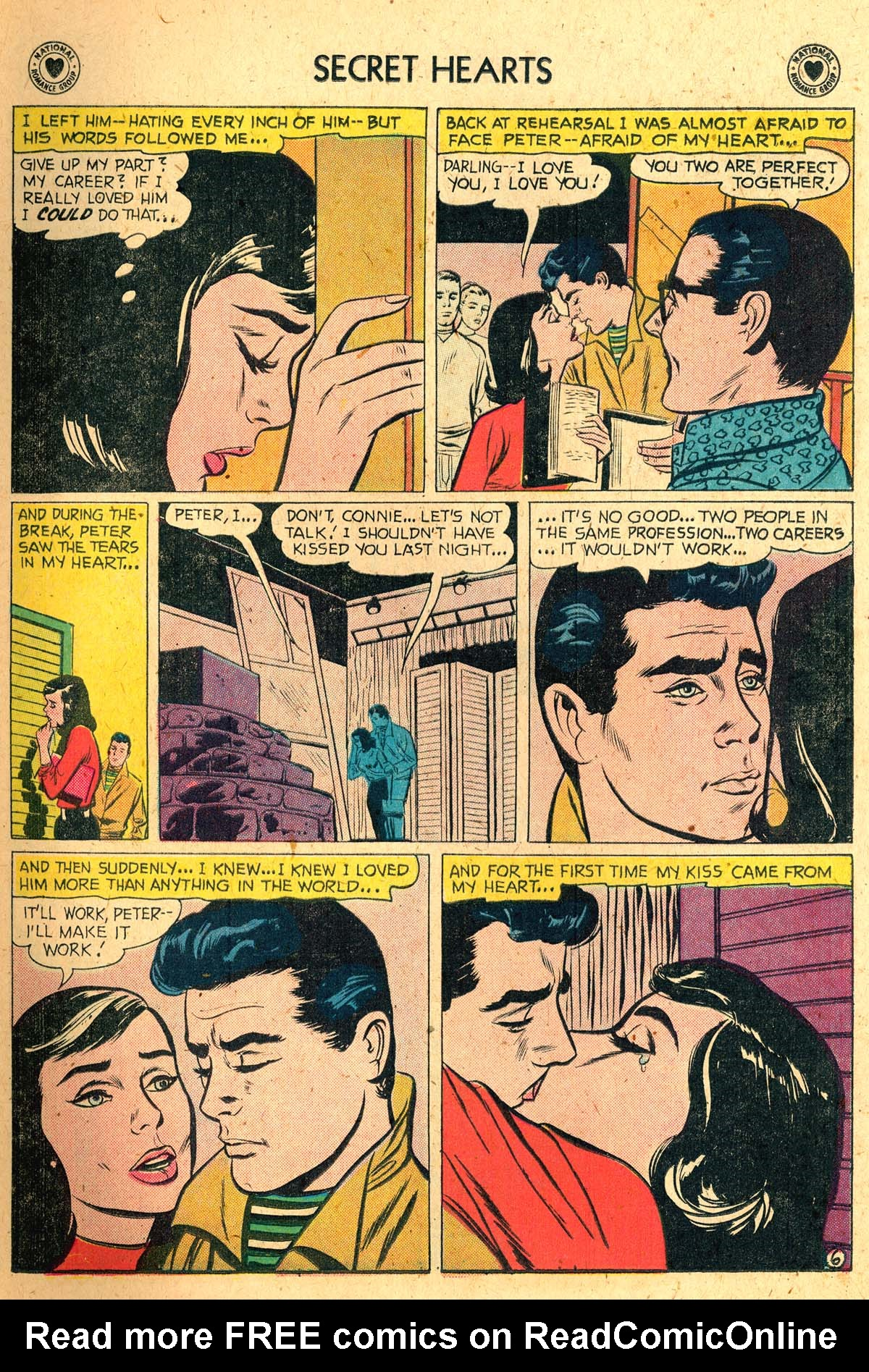 Read online Secret Hearts comic -  Issue #52 - 15