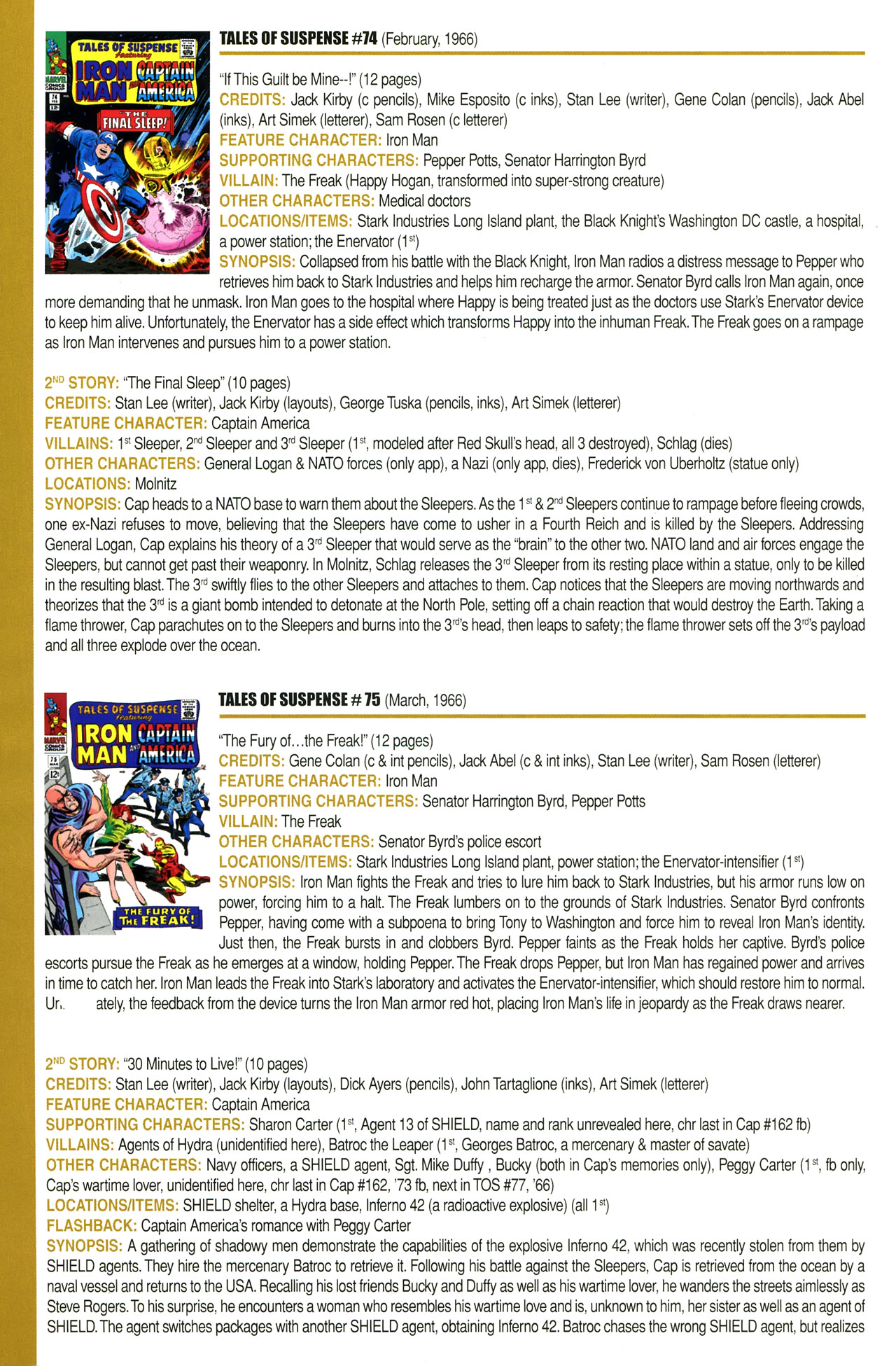Read online Official Index to the Marvel Universe comic -  Issue #2 - 24