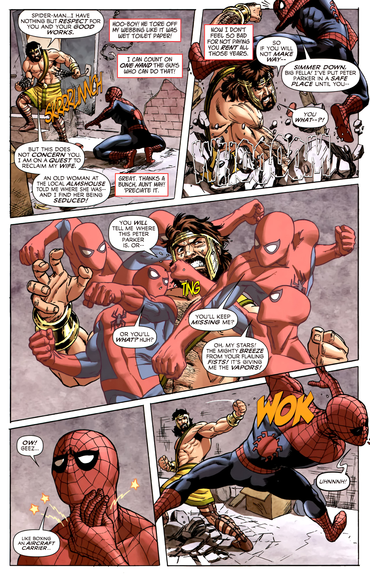Read online Assault on New Olympus Prologue comic -  Issue #Assault on New Olympus Prologue Full - 18