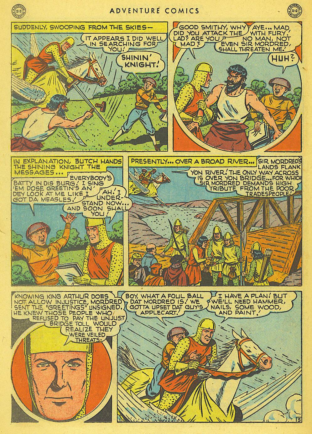 Read online Adventure Comics (1938) comic -  Issue #138 - 36