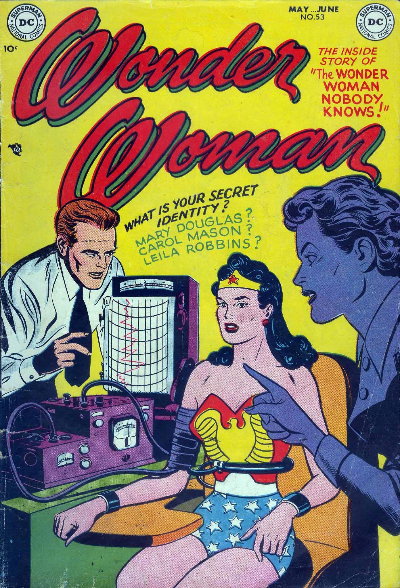 Read online Wonder Woman (1942) comic -  Issue #53 - 1