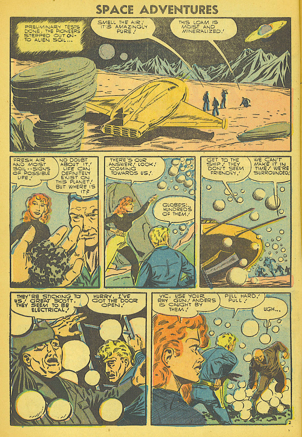 Space Adventures (1952) issue 21 - Page 4